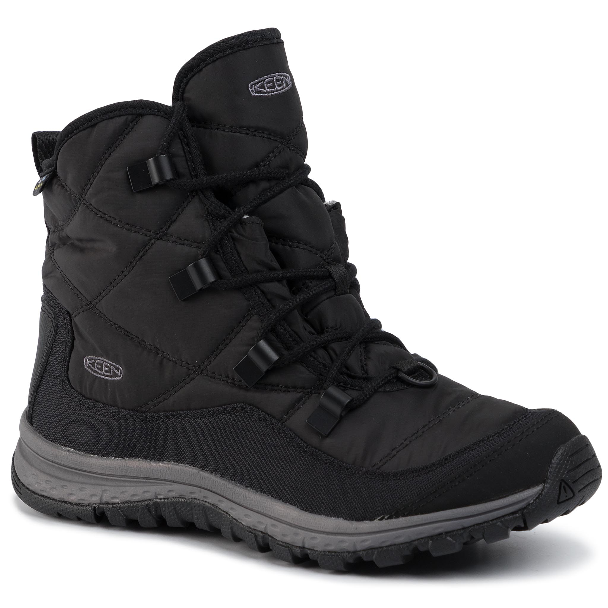 Trekkings Keen - Terradora Ankle Wp 1021735 Black/Steel Grey imagine epantofi.ro 2021