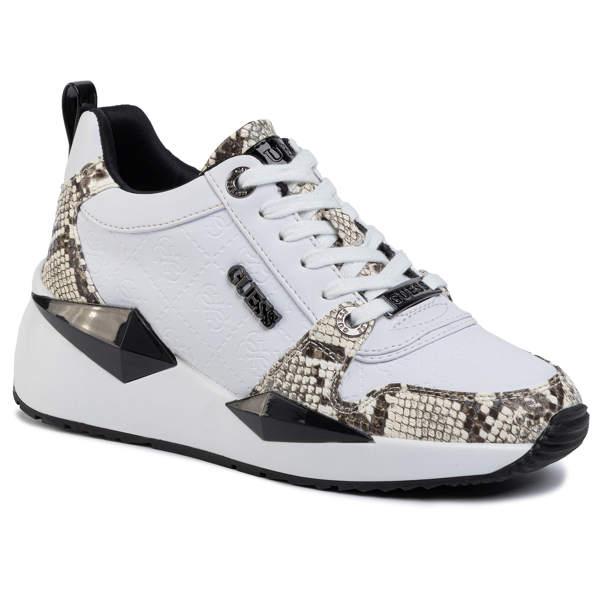 Sneakers GUESS - FL5TLY FAL12 WHIBL