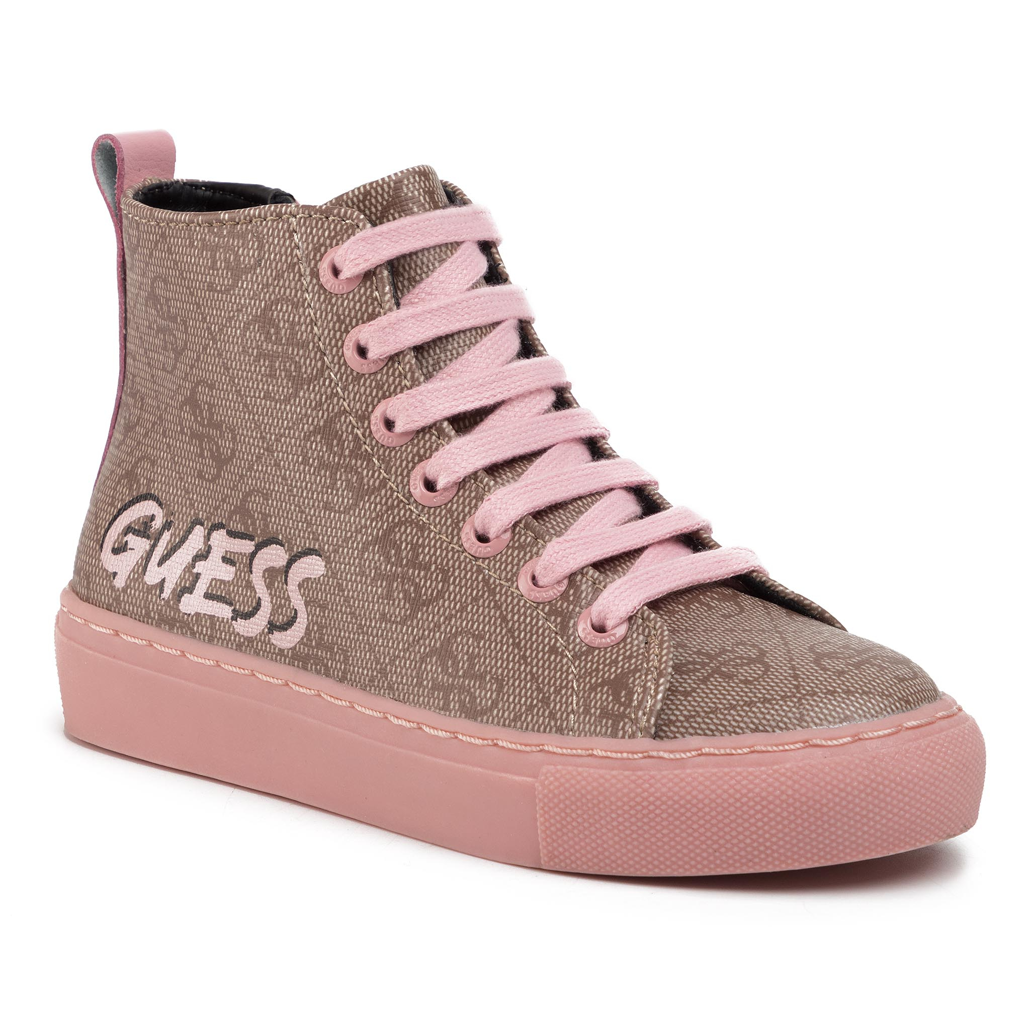 Sneakers GUESS - Lucy Hi FI5LUH FAL12 ROSE