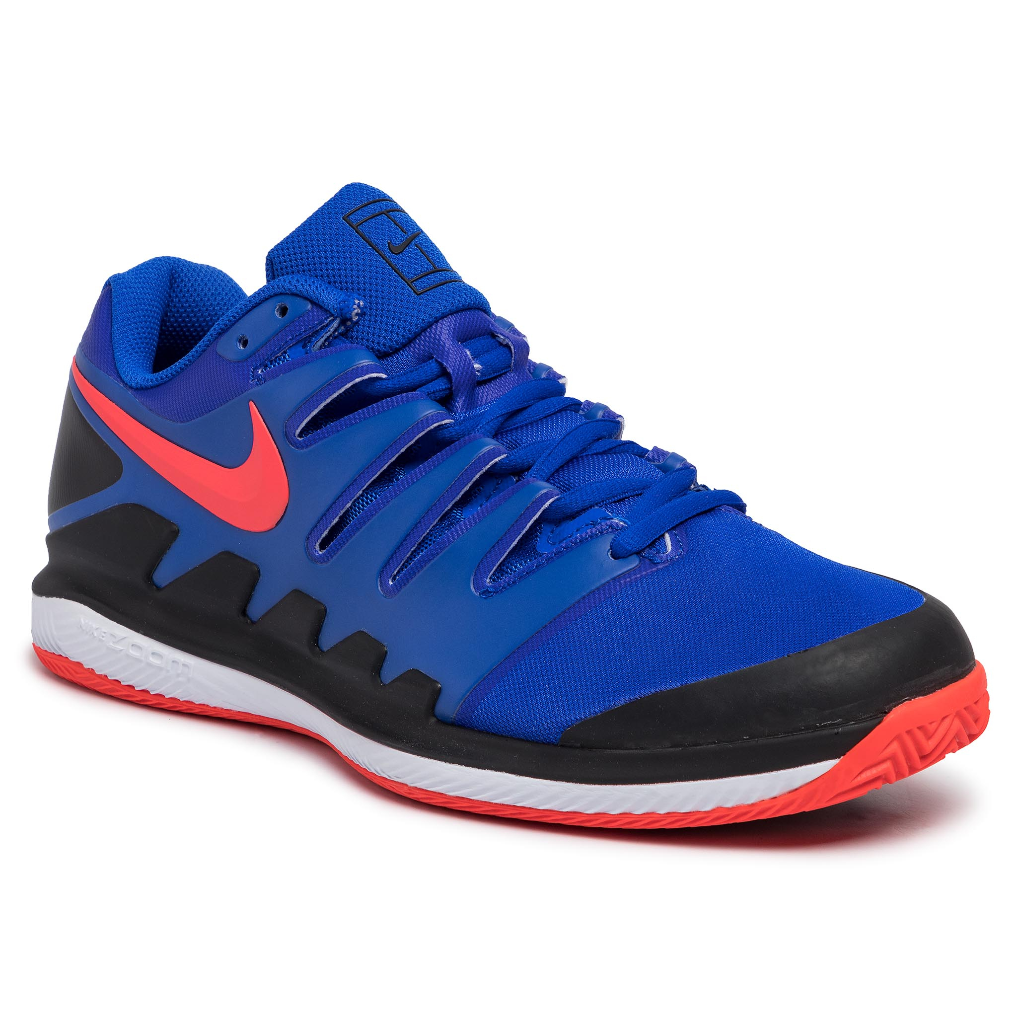 Pantofi NIKE - Air Zoom Vapor X Cly AA8021 402 Racer Blue/Bright Crimson