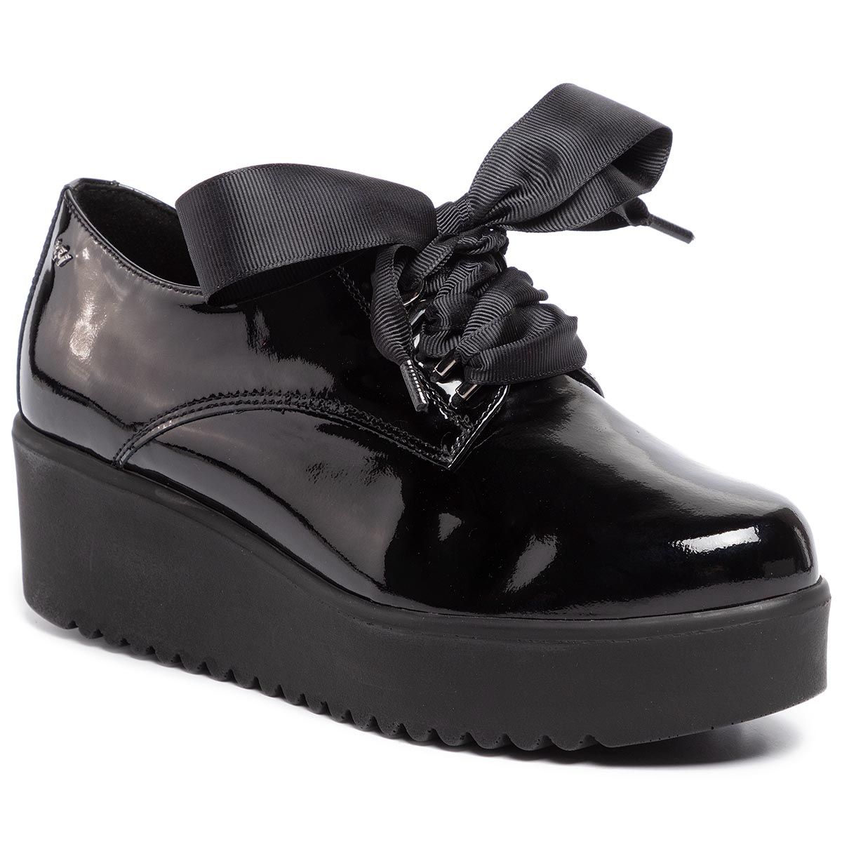 Oxford Wojas - 9491-31 Negru imagine epantofi.ro 2021