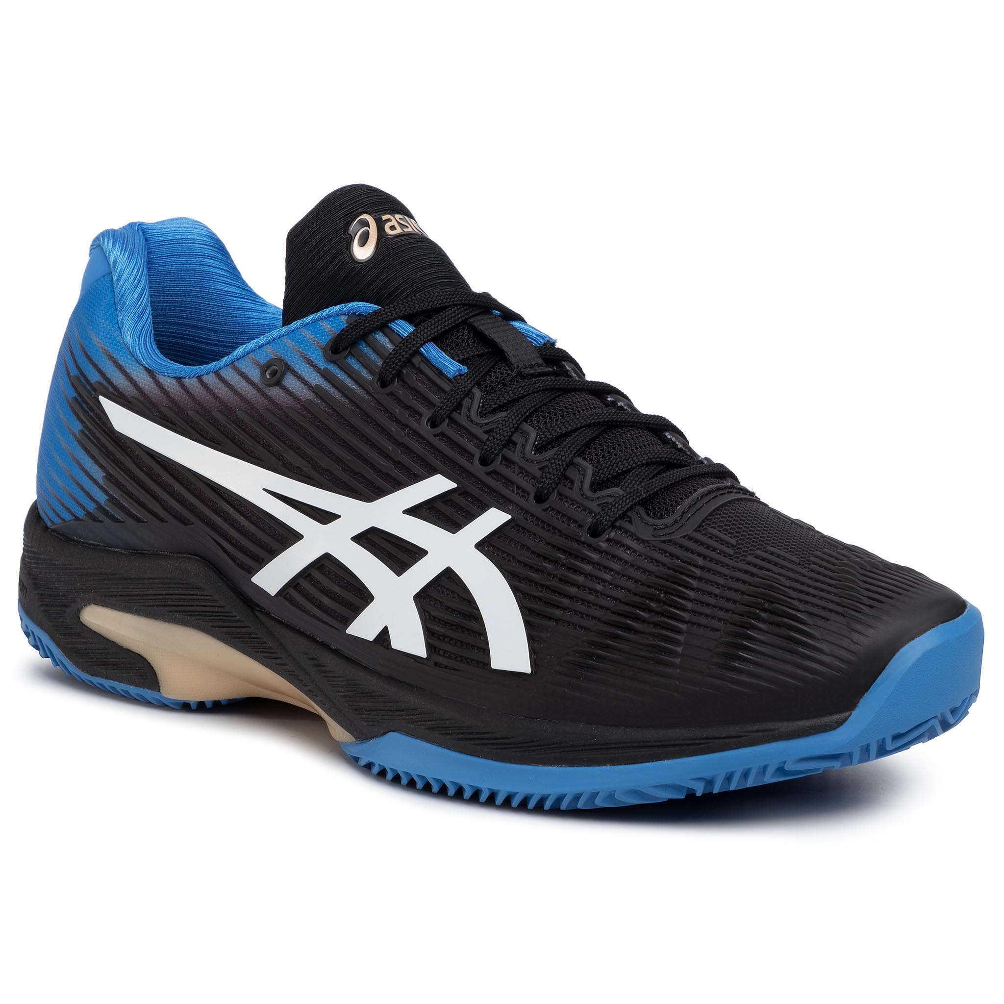 Pantofi Asics - Solution Speed Ff Clay 1041a004 Black/Blue Cost 012 imagine epantofi.ro 2021