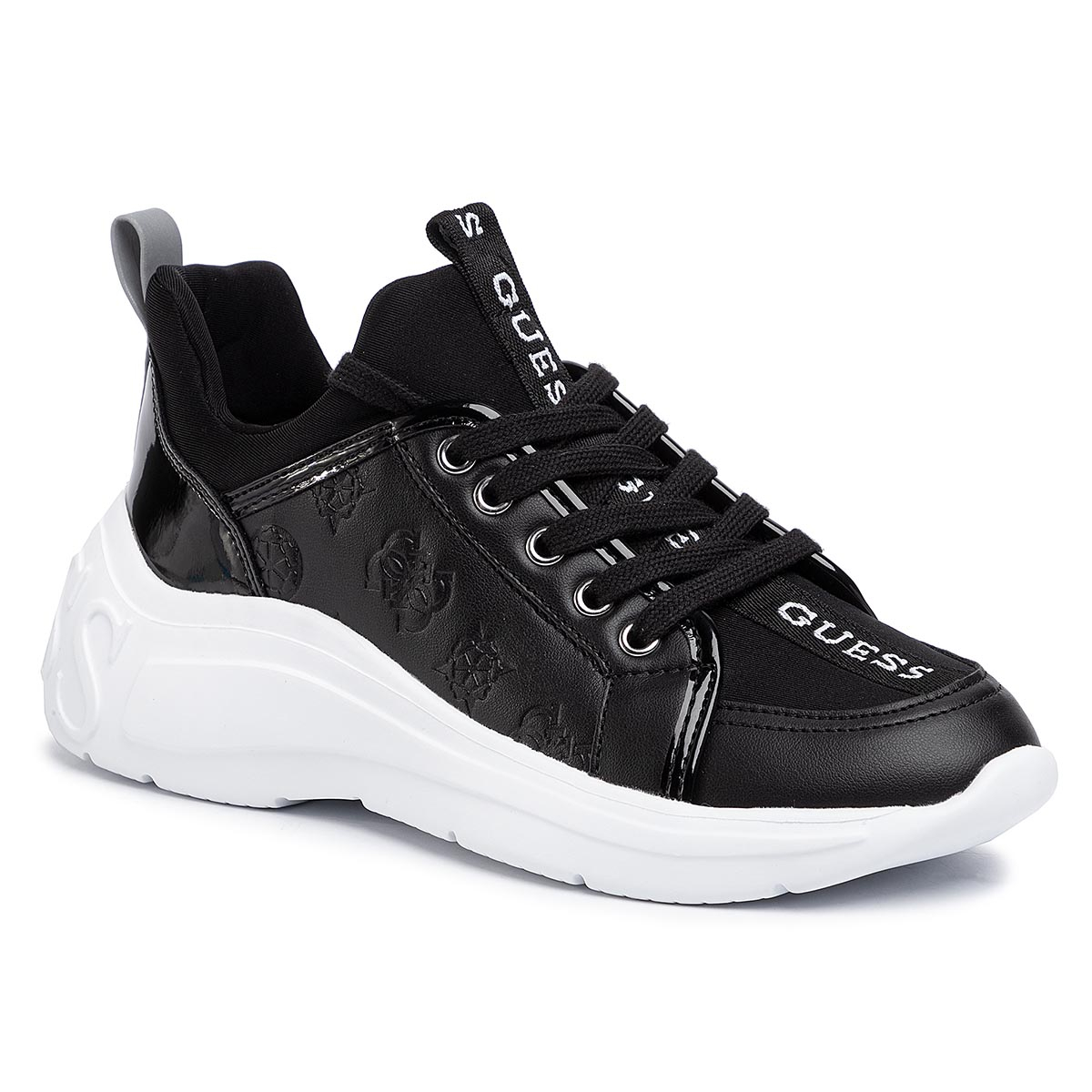 Sneakers GUESS - Speerit FL6SPT FAL12 BLACK