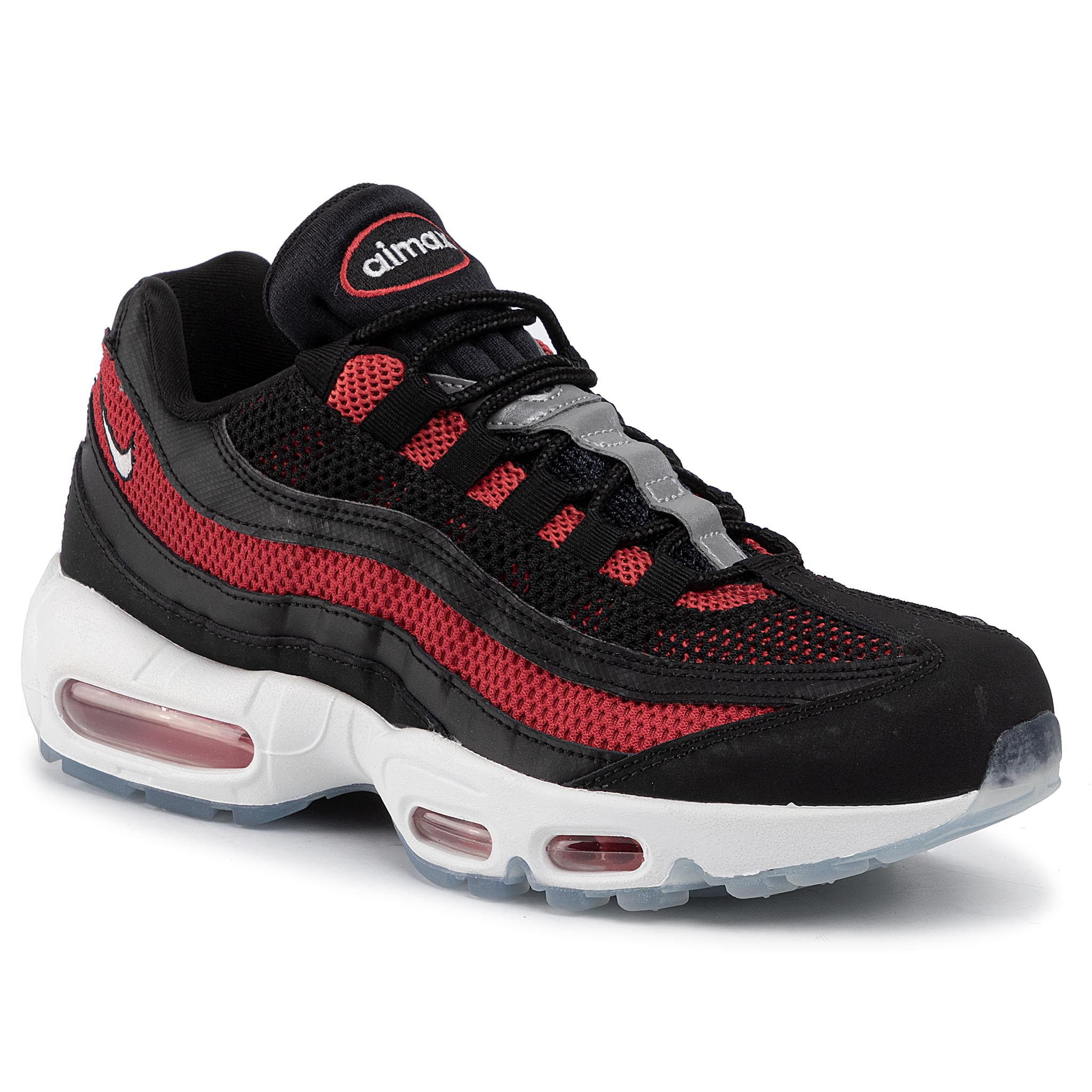 Pantofi NIKE - Air Max 95 Essential 749766 039 Black/White/University Red
