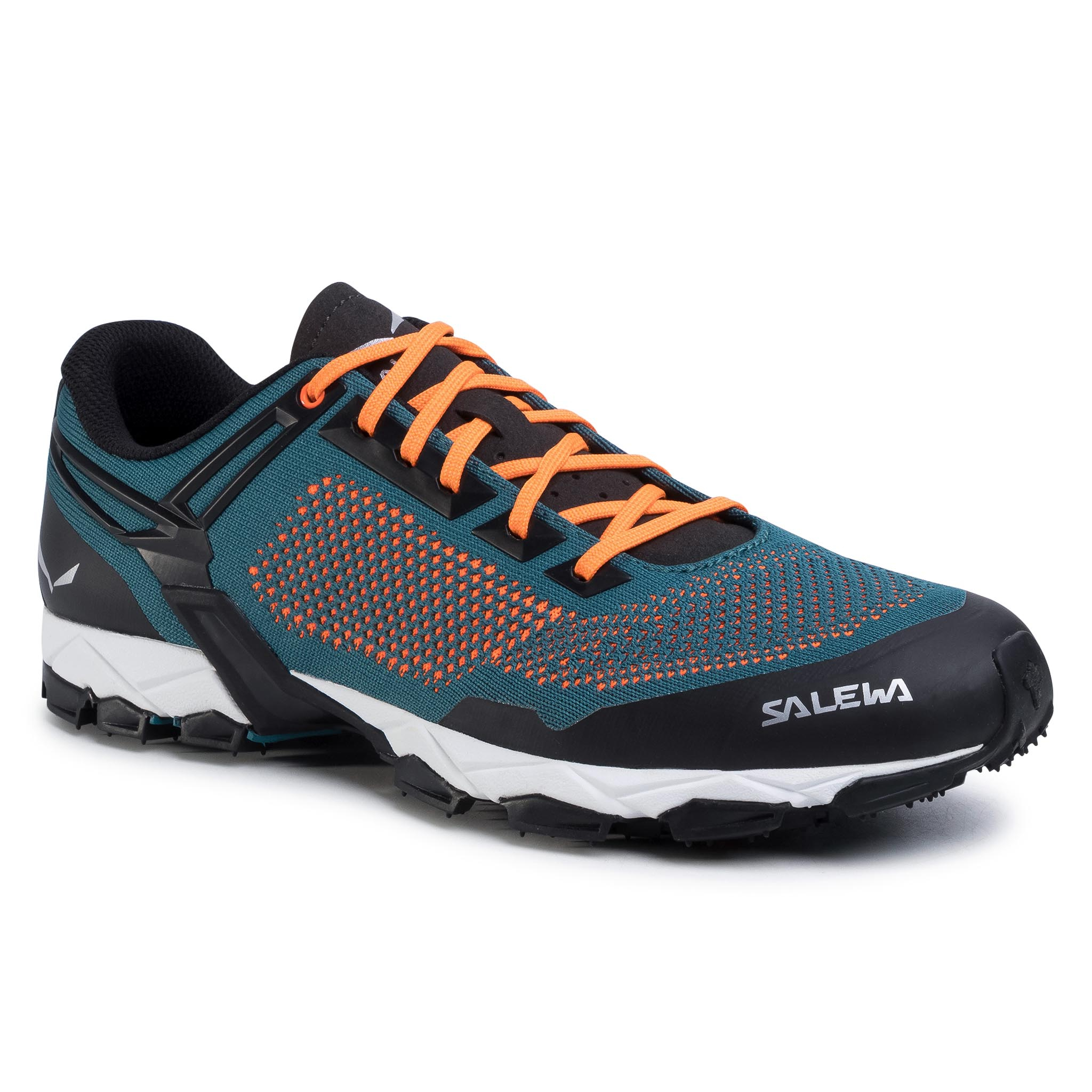 Trekkings Salewa - Lite Train K 61348-8748 Malta/Fluo Orange 8748 imagine epantofi.ro 2021