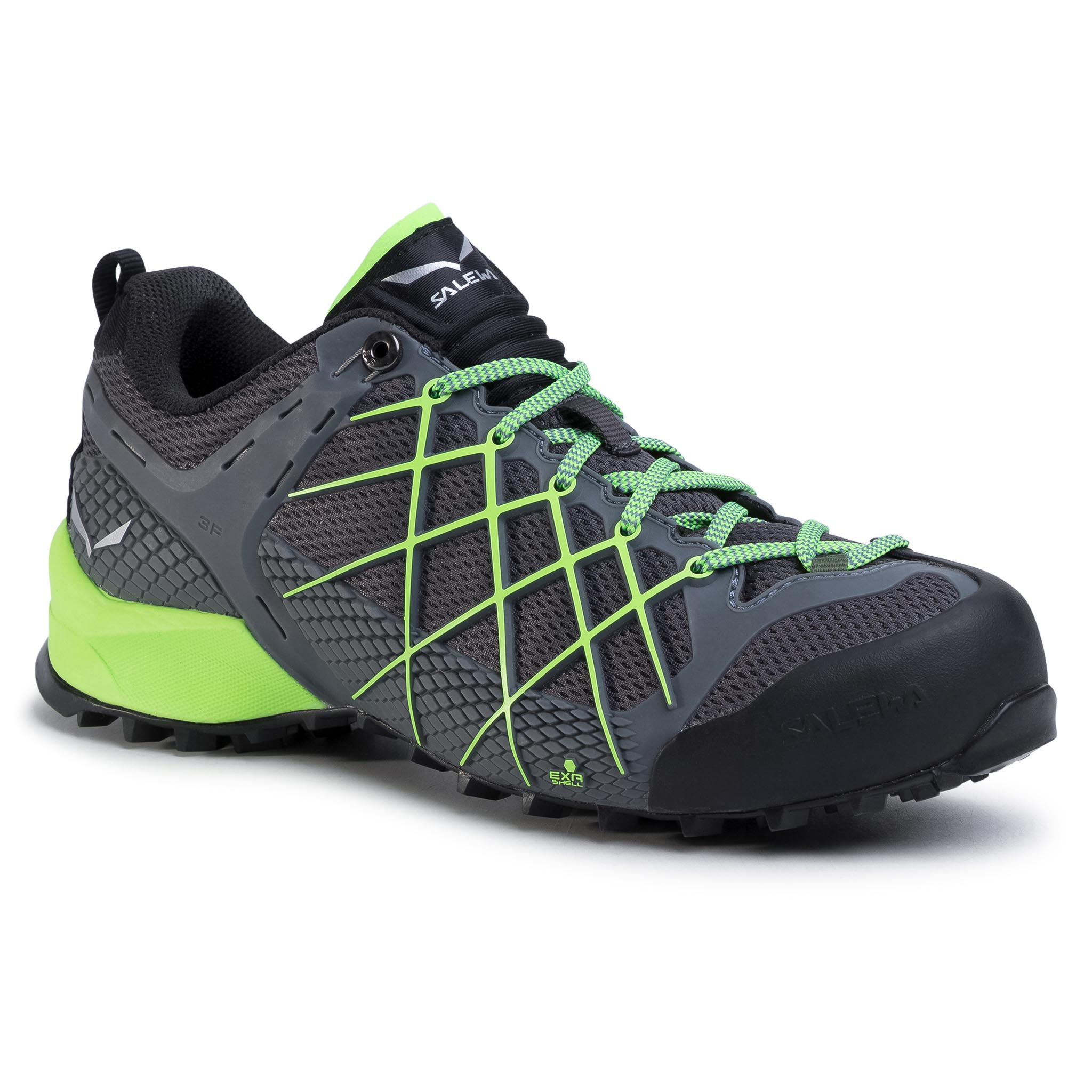 Trekkings Salewa - Ms Wildfire 63485-7450 Flintstone/Fluo imagine epantofi.ro 2021