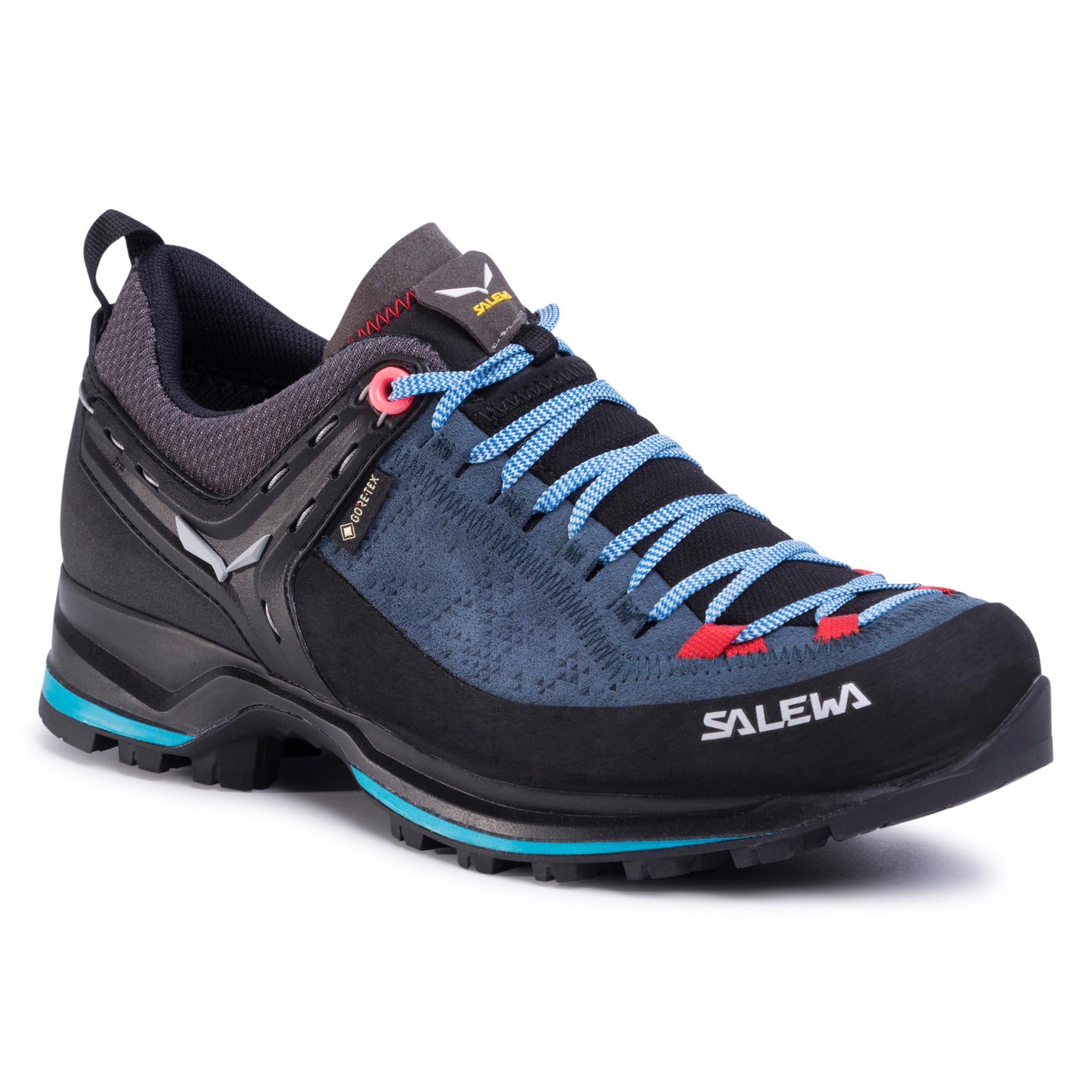 Trekkings Salewa - Ws Mtn Trainer 2 Gtx Gore-Tex 61358-8679 Dark Denim/Fluo Coral imagine epantofi.ro 2021