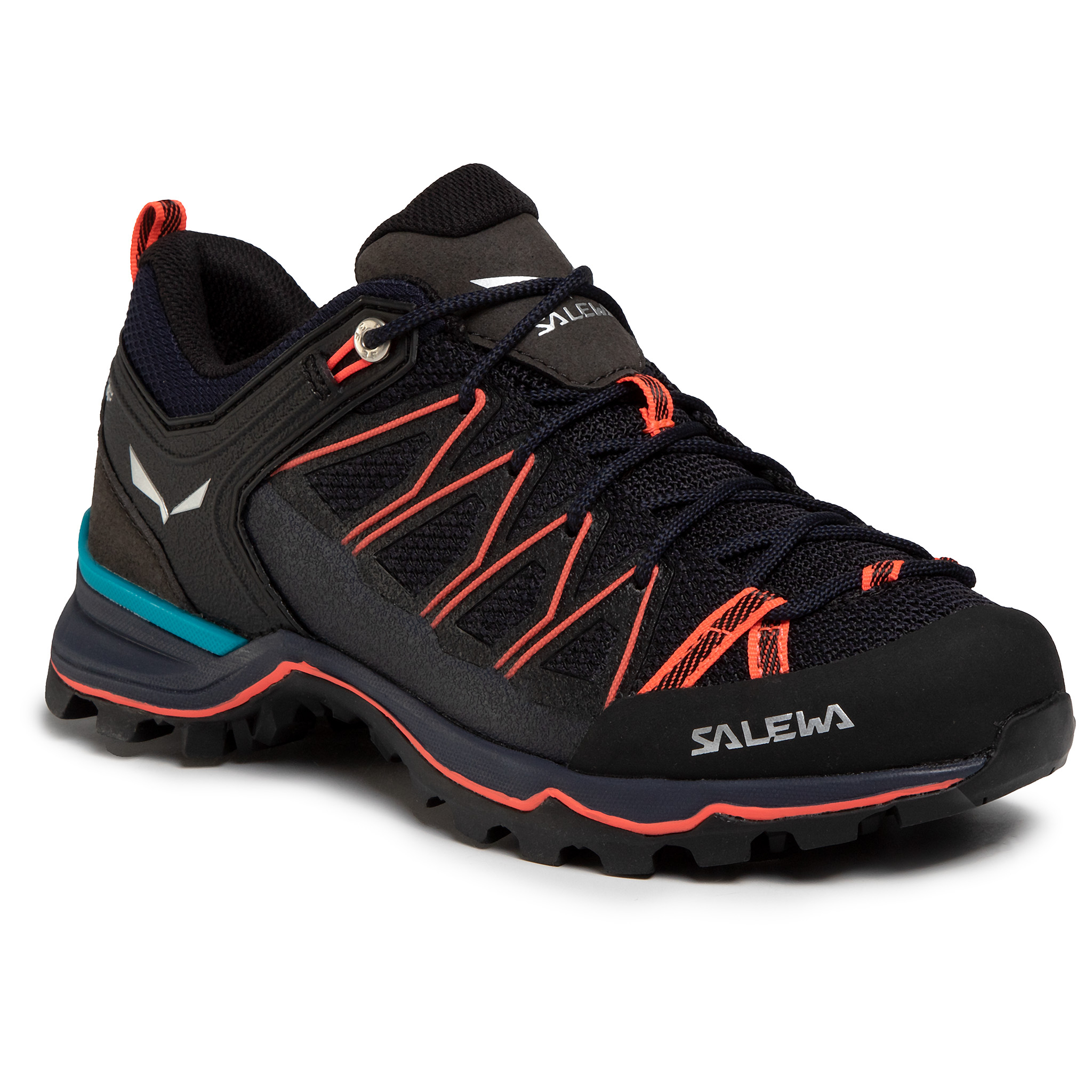 Trekkings Salewa - Ws Mtn Trainer Lite 61364-3993 Premium Navy/Fluo Coral imagine epantofi.ro 2021