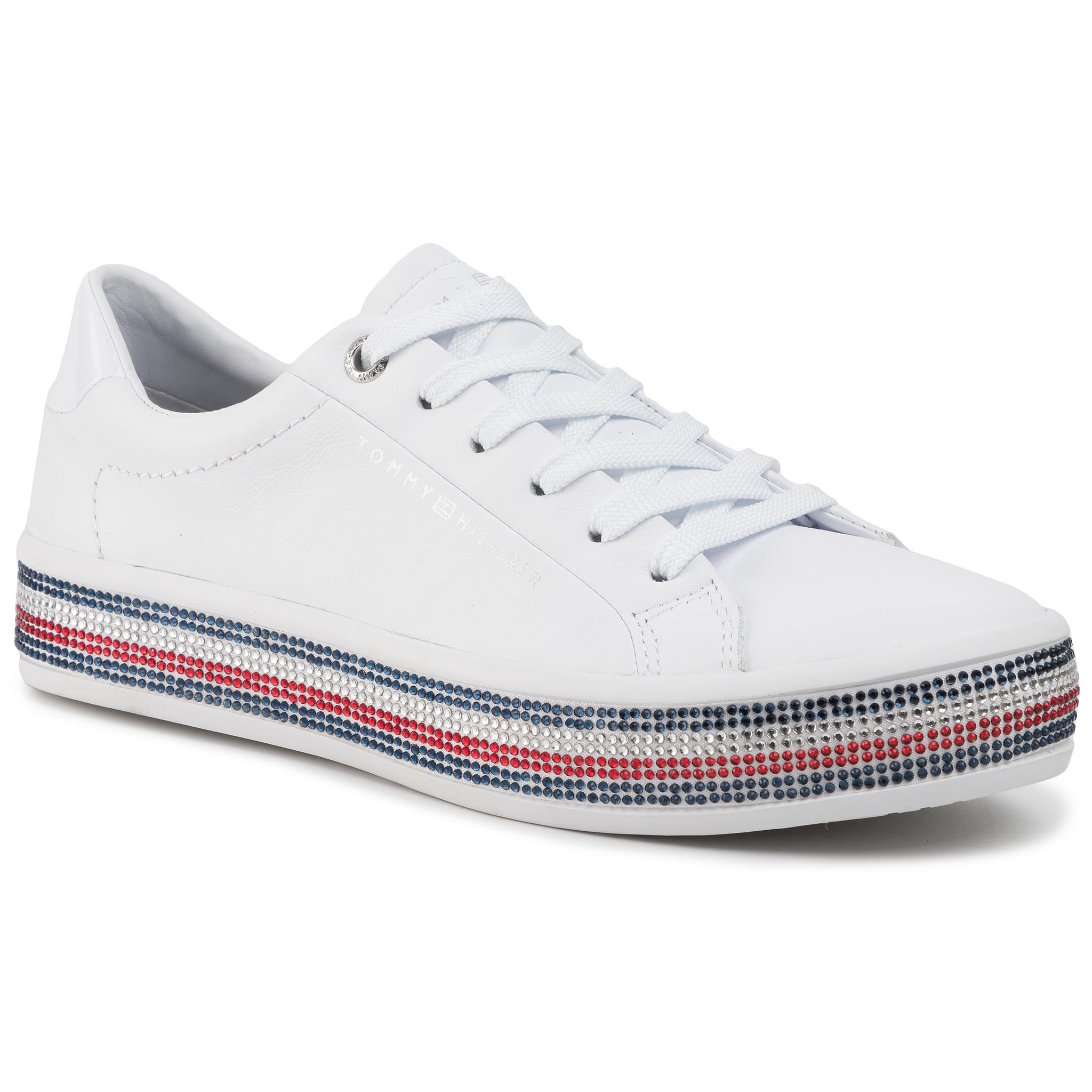 Sneakers TOMMY HILFIGER - Jeweled Sneaker FW0FW04596 YBS