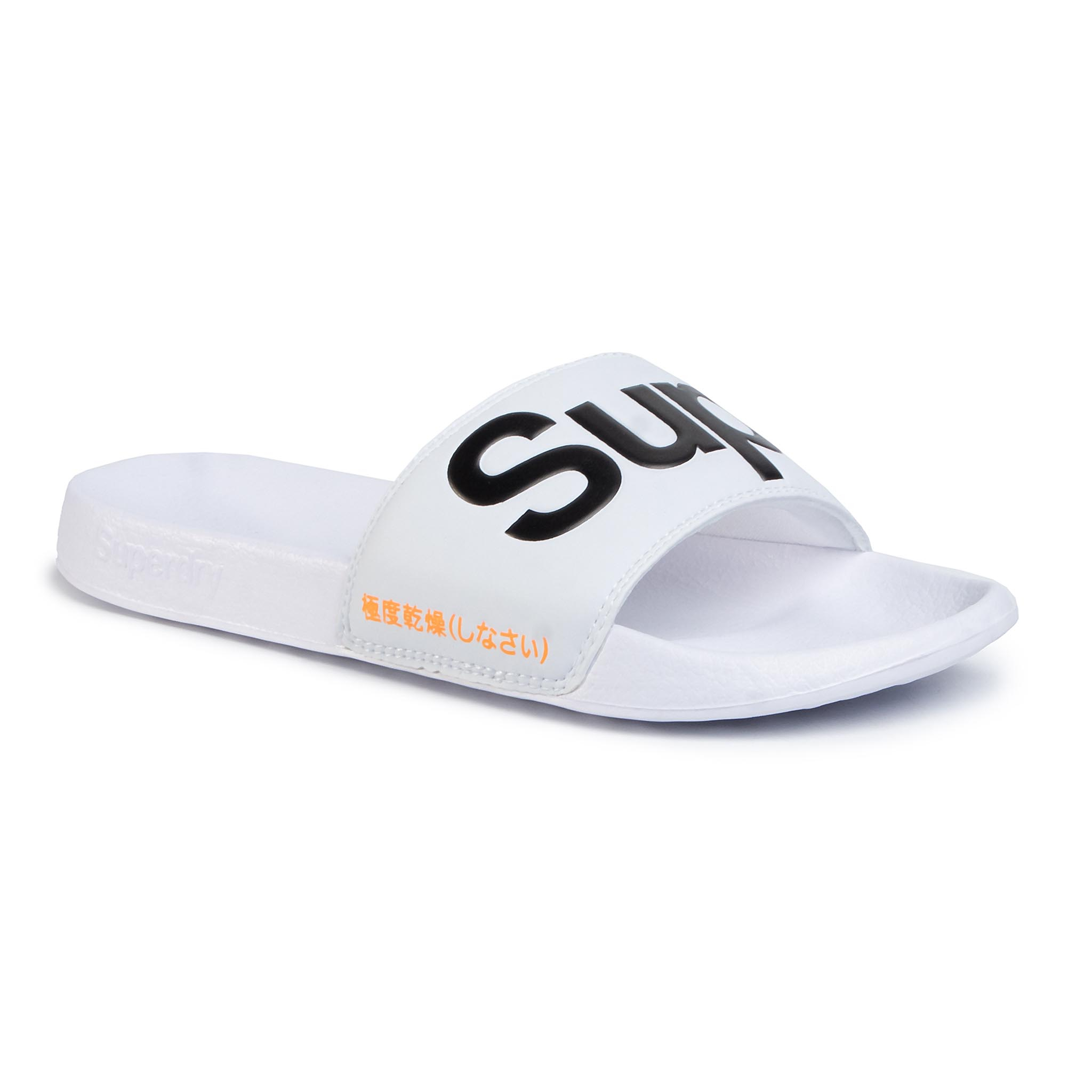 Șlapi Superdry - Classic Pool Slide Mf310008a Optic 01c imagine epantofi.ro 2021