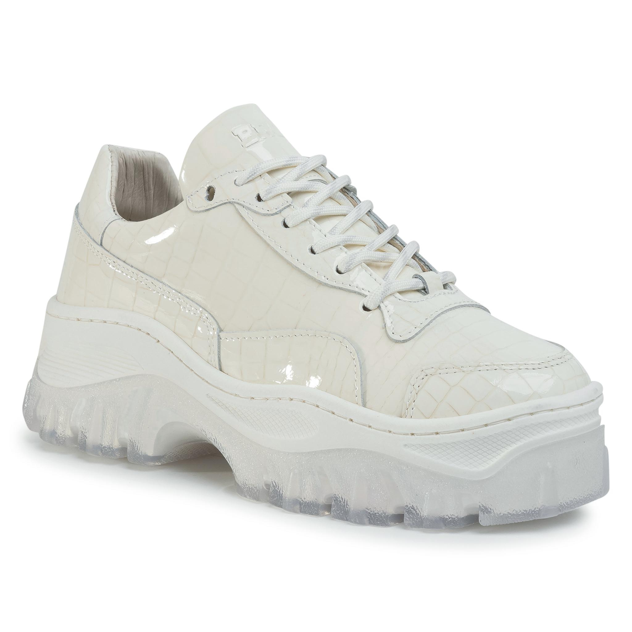 Sneakers BRONX - 66327-HH Off White 05