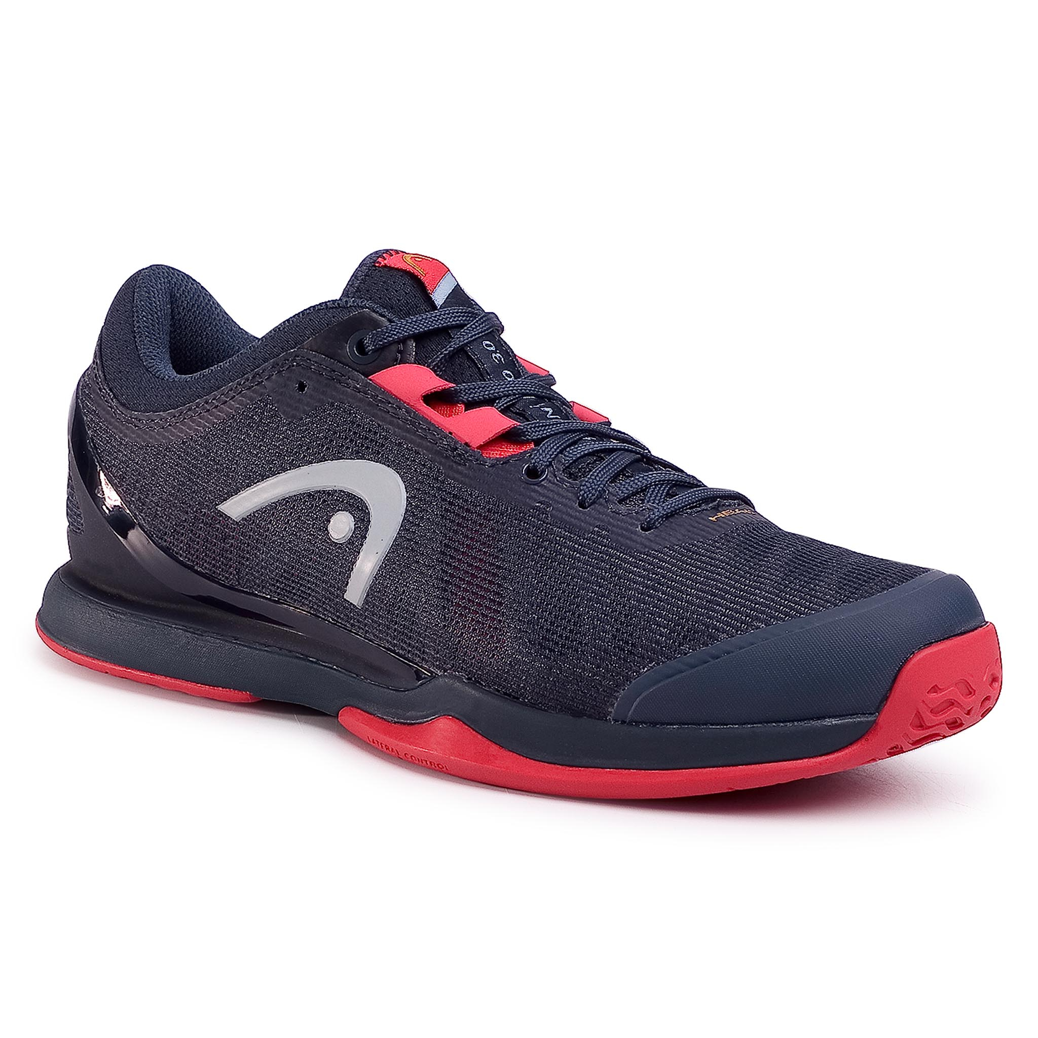 Pantofi Head - Sprint Pro 3.0 273000 Midnight Navy/Neon Red 065 imagine epantofi.ro 2021