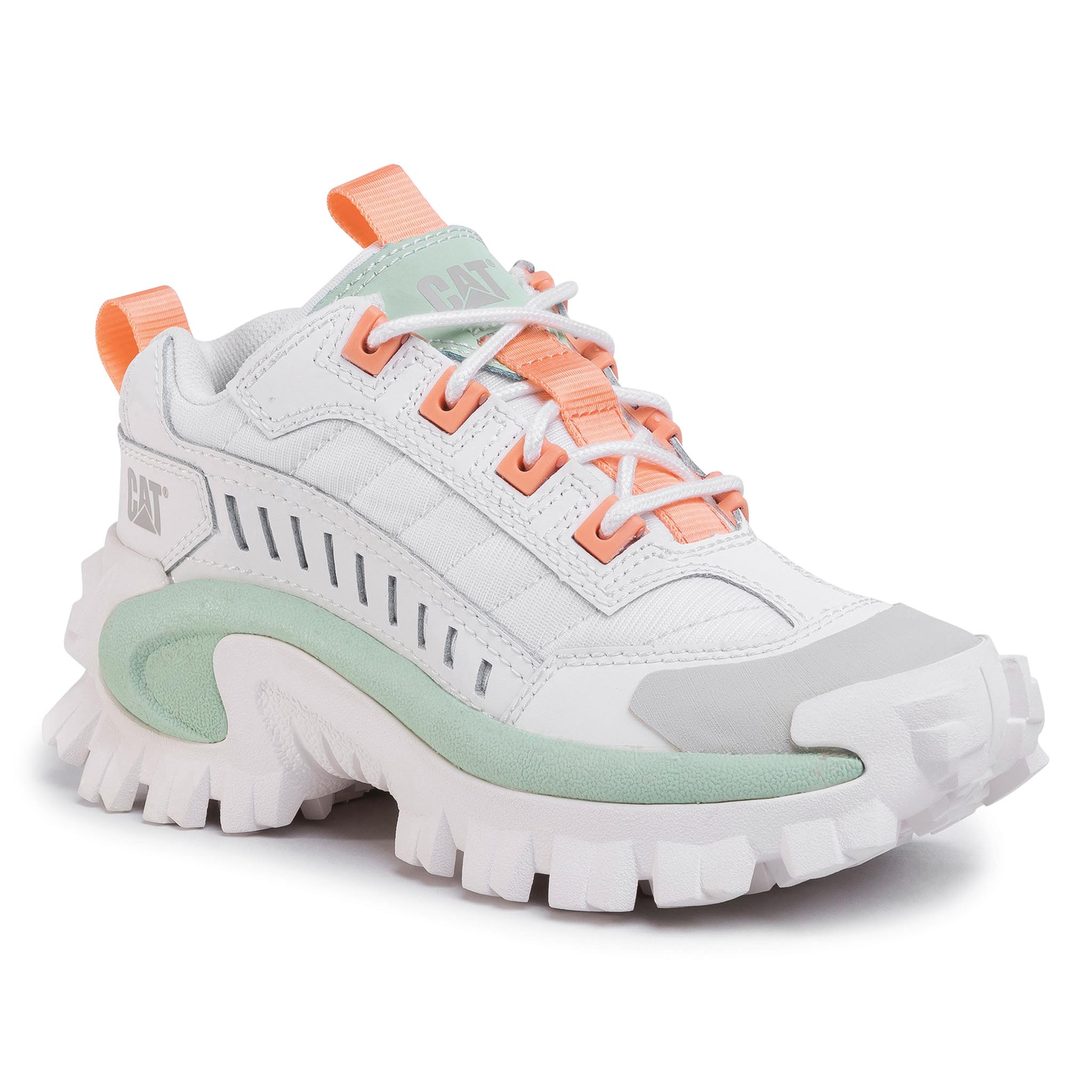 Sneakers CATERPILLAR - Intruder P724500 Star White/Pastel Green