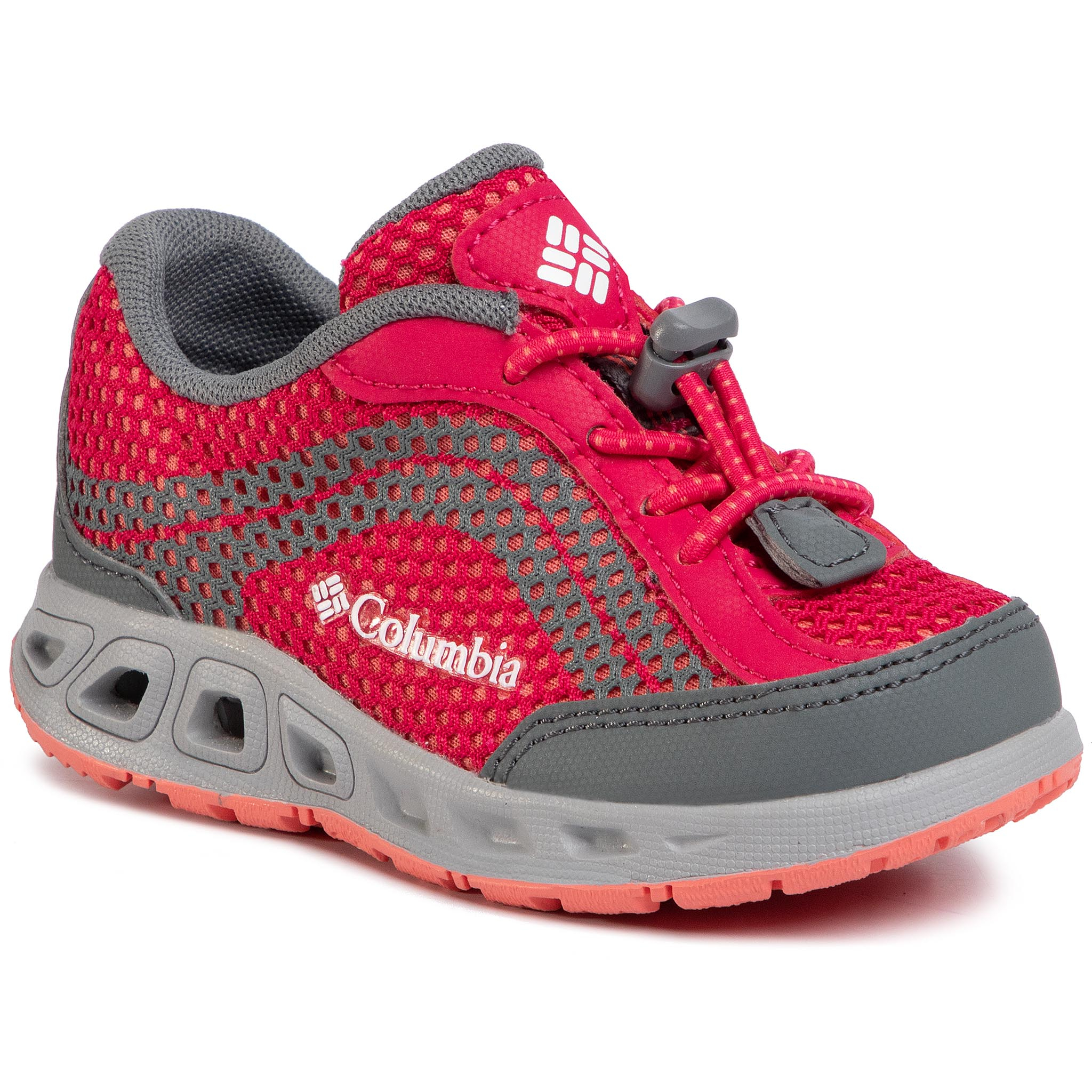 Trekkings COLUMBIA - Childrens Drainmaker IV BC1091 Bright Rose/Hot Coral 600