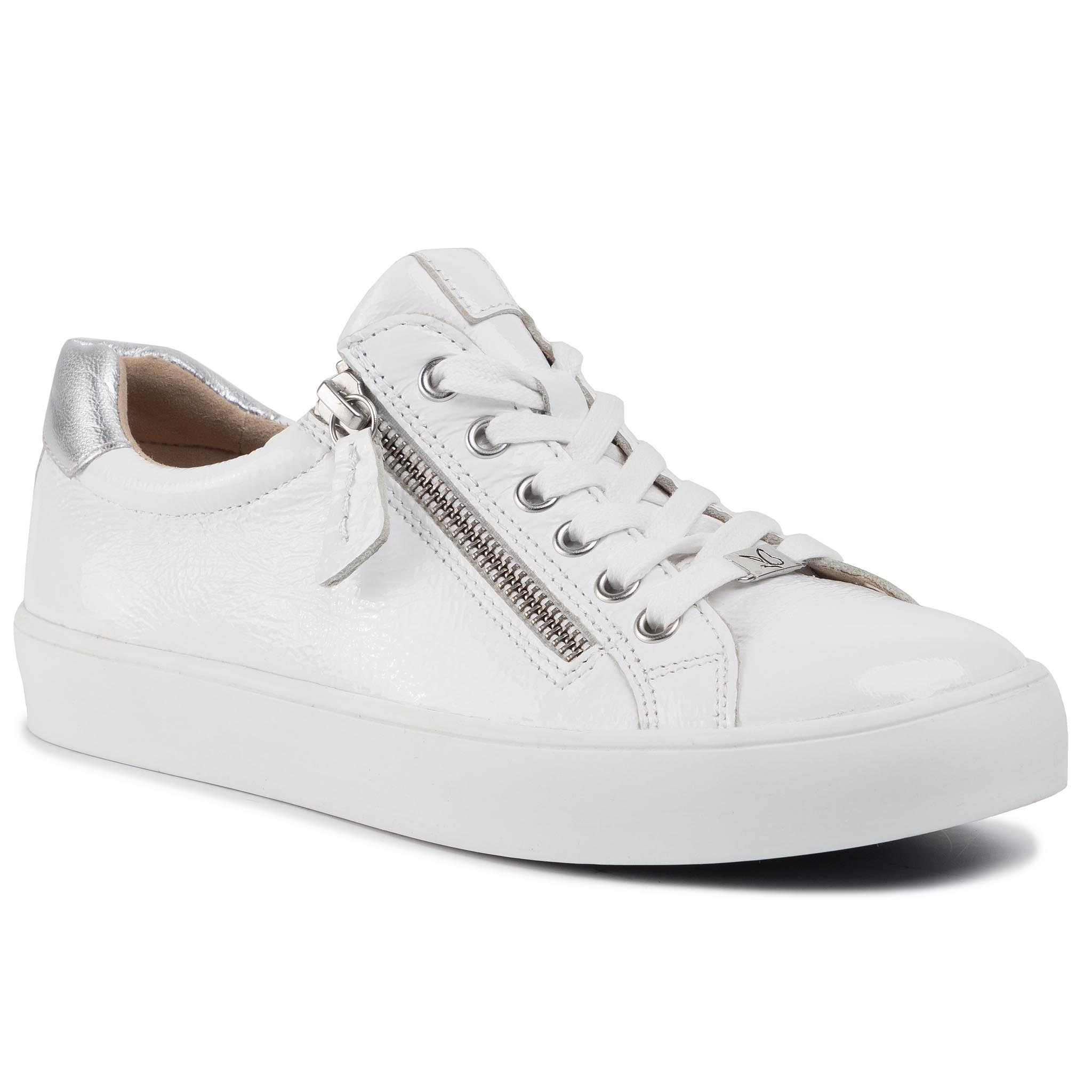 Sneakers CAPRICE - 9-23656-24 White/Silver 191