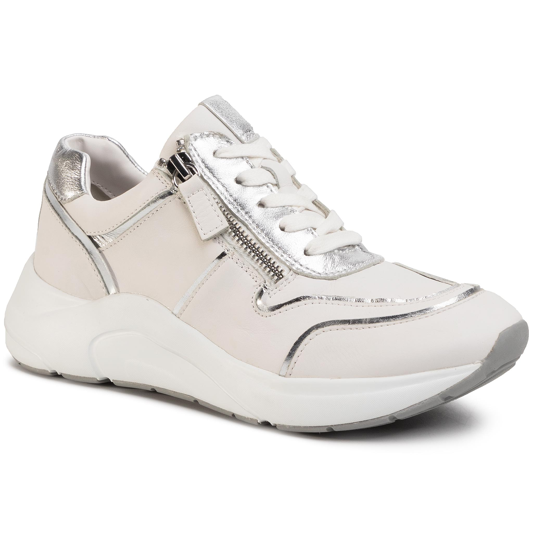 Sneakers CAPRICE - 9-23704-24 White/Silver 191
