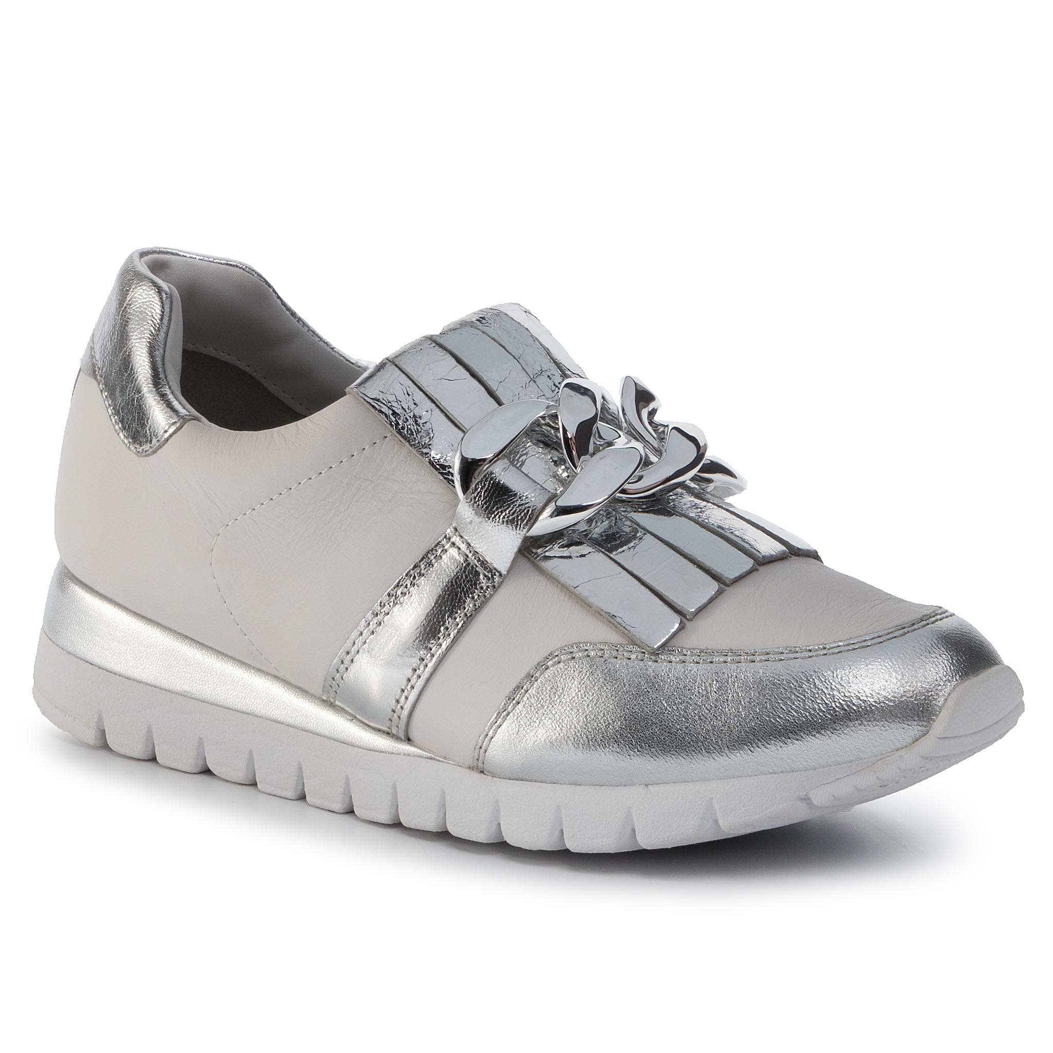 Sneakers CAPRICE - 9-24700-24 Silver/White 930
