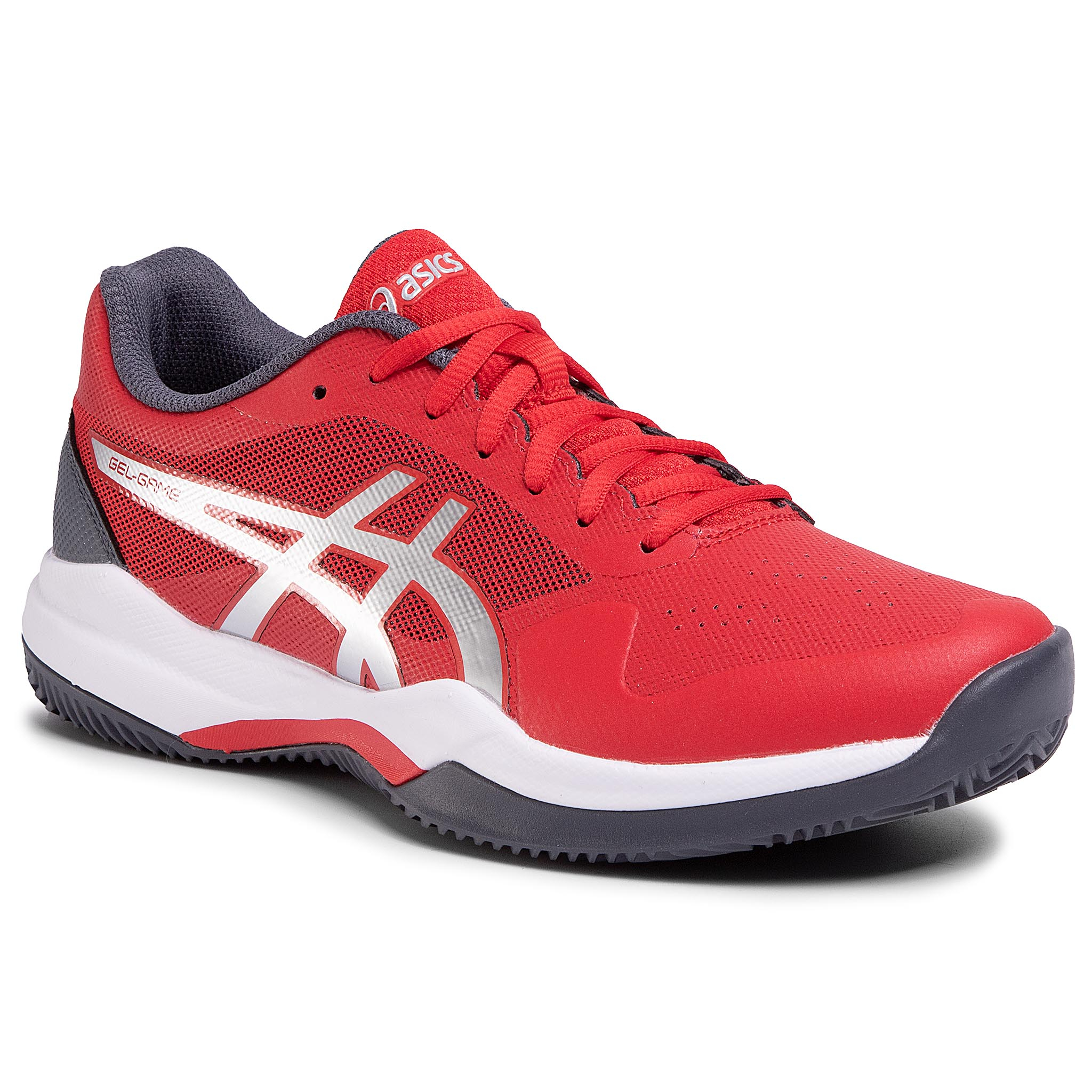 Pantofi Asics - Gel-Game 7 Clay/Oc 1041a046 Classic Red/Pure Silver 603 imagine epantofi.ro 2021