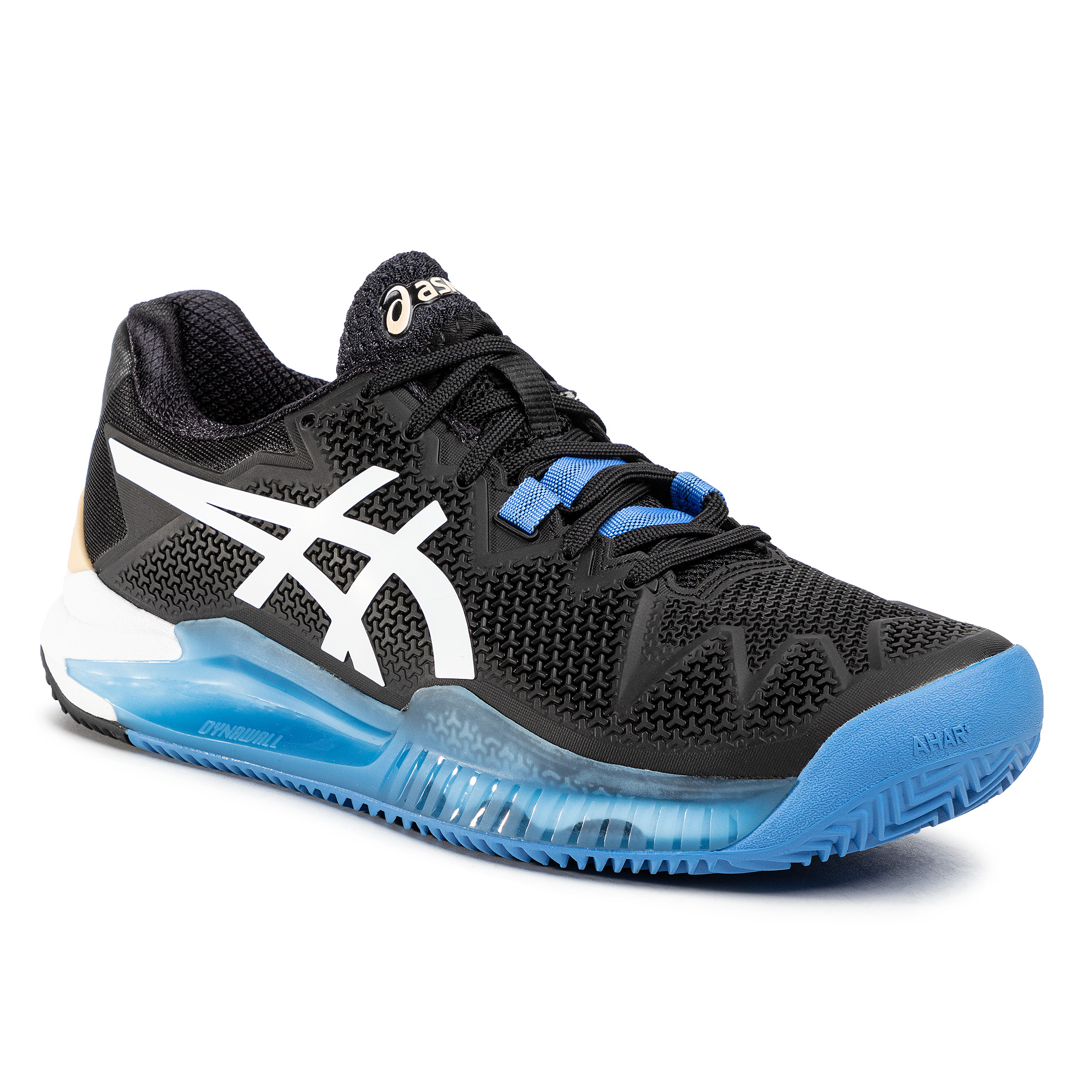 Pantofi Asics - Gel-Resolution 8 Clay 1041a076 Black/White 001 imagine epantofi.ro 2021