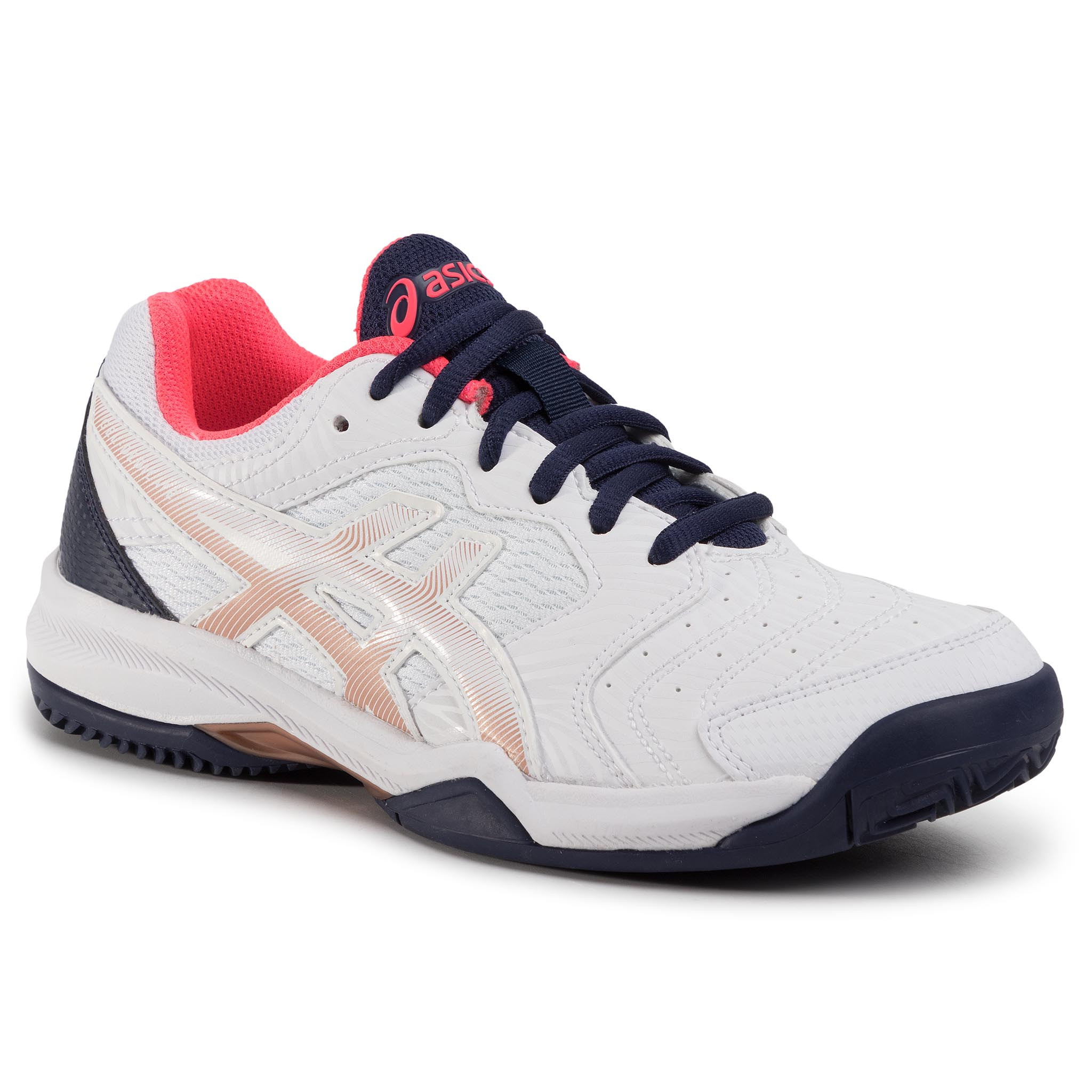 Pantofi Asics - Gel-Dedicate 6 Clay 1042a073 White/White 103 imagine epantofi.ro 2021