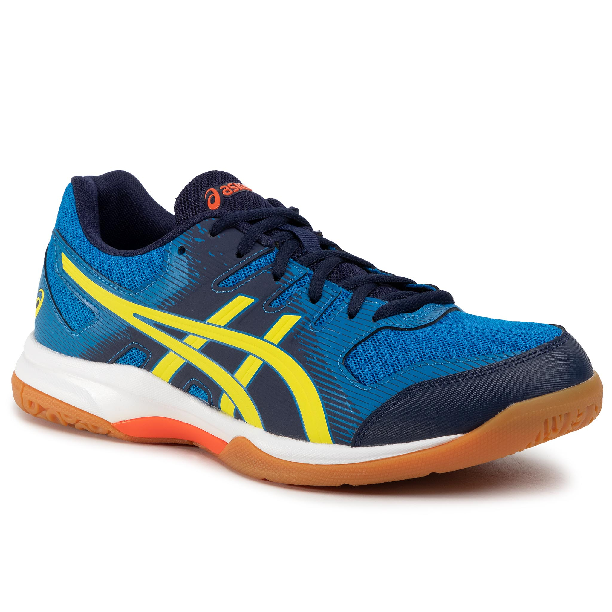 Pantofi ASICS - Gel-Rocket 9 1071A030 Electric Blue/Sour Yuzu 400
