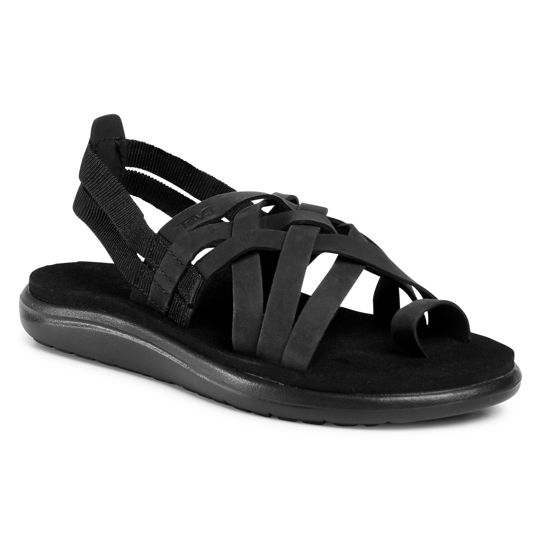 Sandale TEVA - Voya Strappy Leather 1106868 Blk