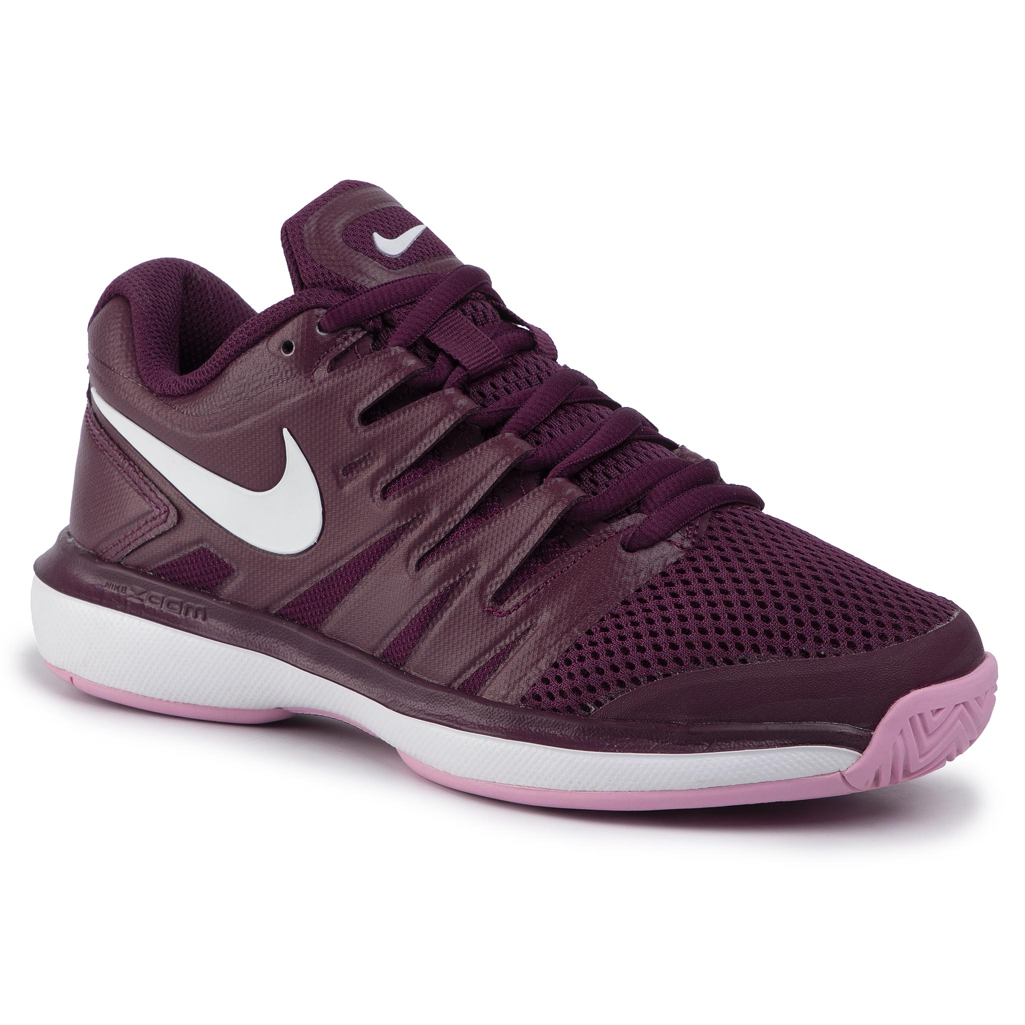 Pantofi Nike - Air Zoom Prestige Hc Aa8024 603 Bordeaux/White/Pink Rise imagine epantofi.ro 2021