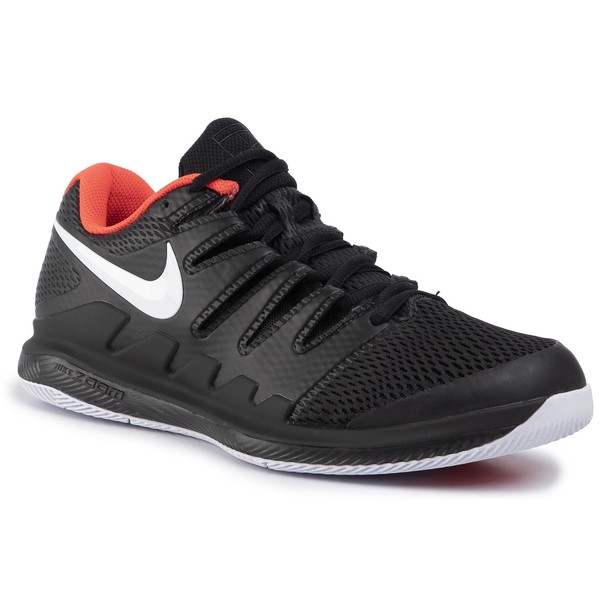 Pantofi Nike - Air Zoom Vapor X Hc Aa8030 016 Black/White/Bright Crimson imagine epantofi.ro 2021