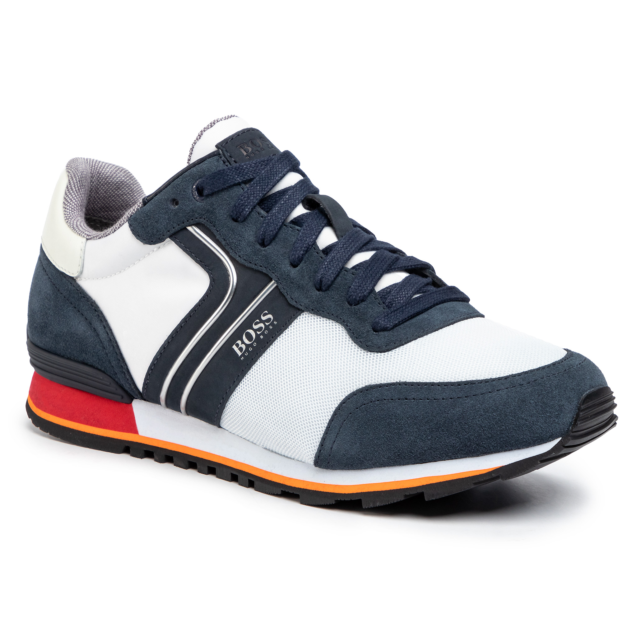 Sneakers BOSS - Parkour 50433661 10214574 01 Open White 124