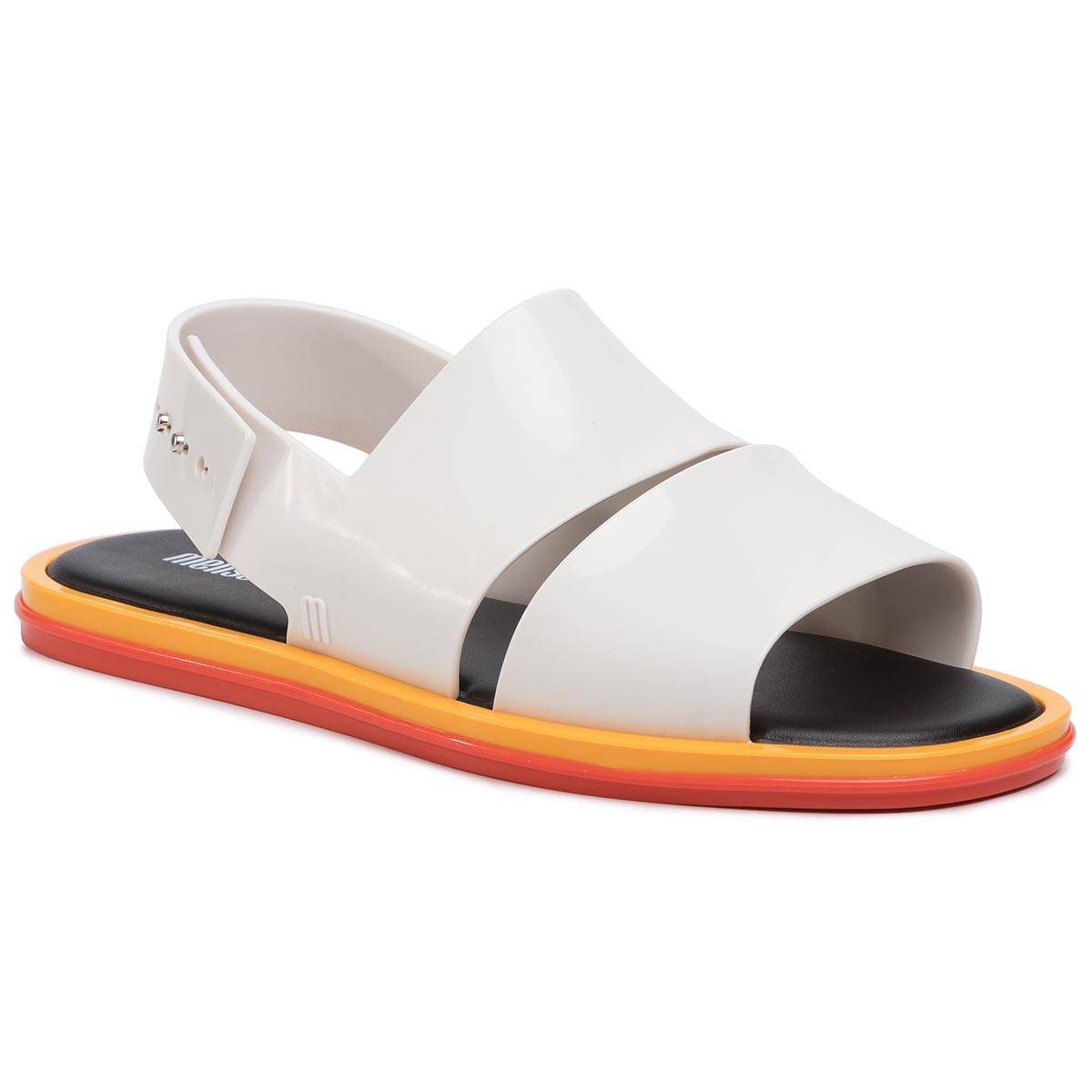 Sandale Melissa - Carbon Ad 32688 White/Black 5218 imagine epantofi.ro 2021