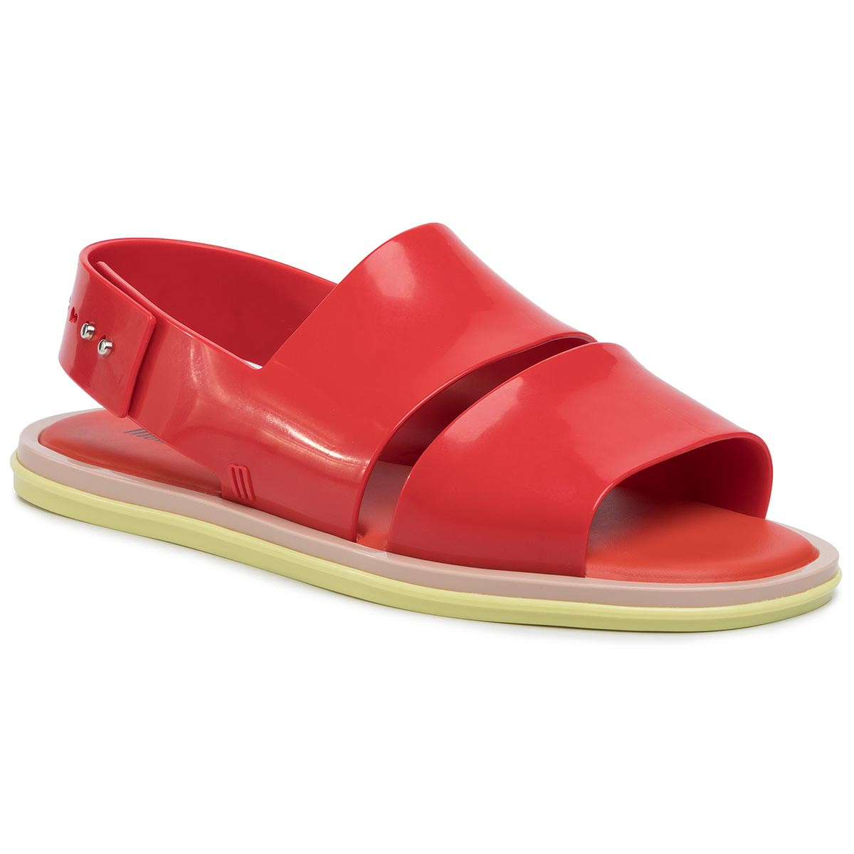 Sandale MELISSA - Carbon Ad 32688 Red/Yellow/Beige 53613