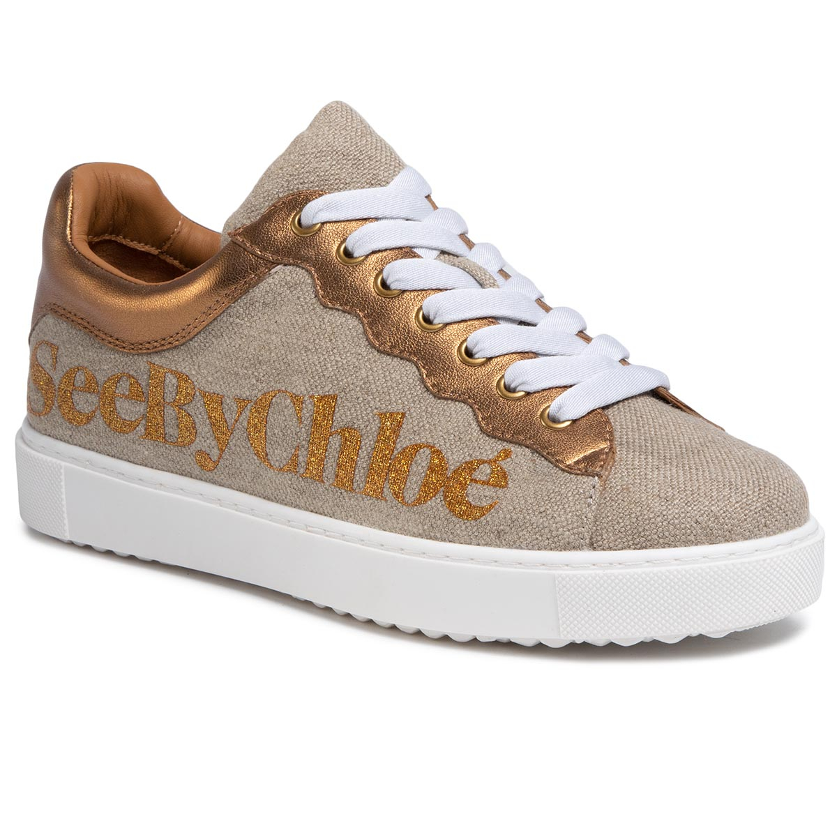 Sneakers SEE BY CHLOÉ - SB34151A Fabric Oasi 030/Nappa Vintage 087/Logo