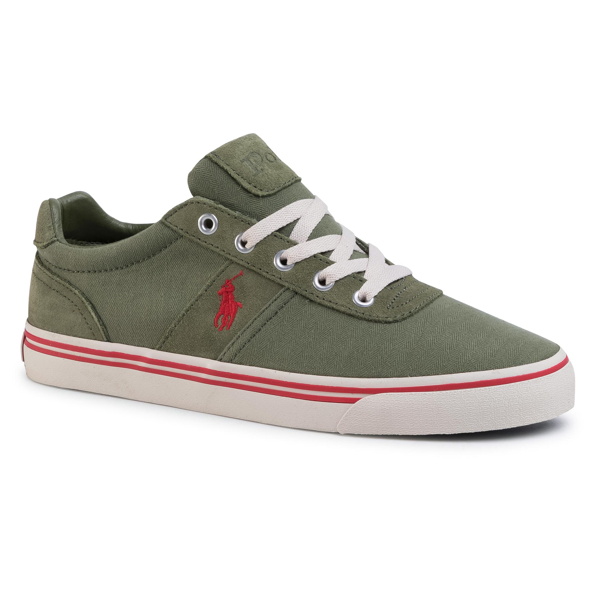 Teniși Polo Ralph Lauren - Hanford 816799510002 Green/Red Pp imagine epantofi.ro 2021