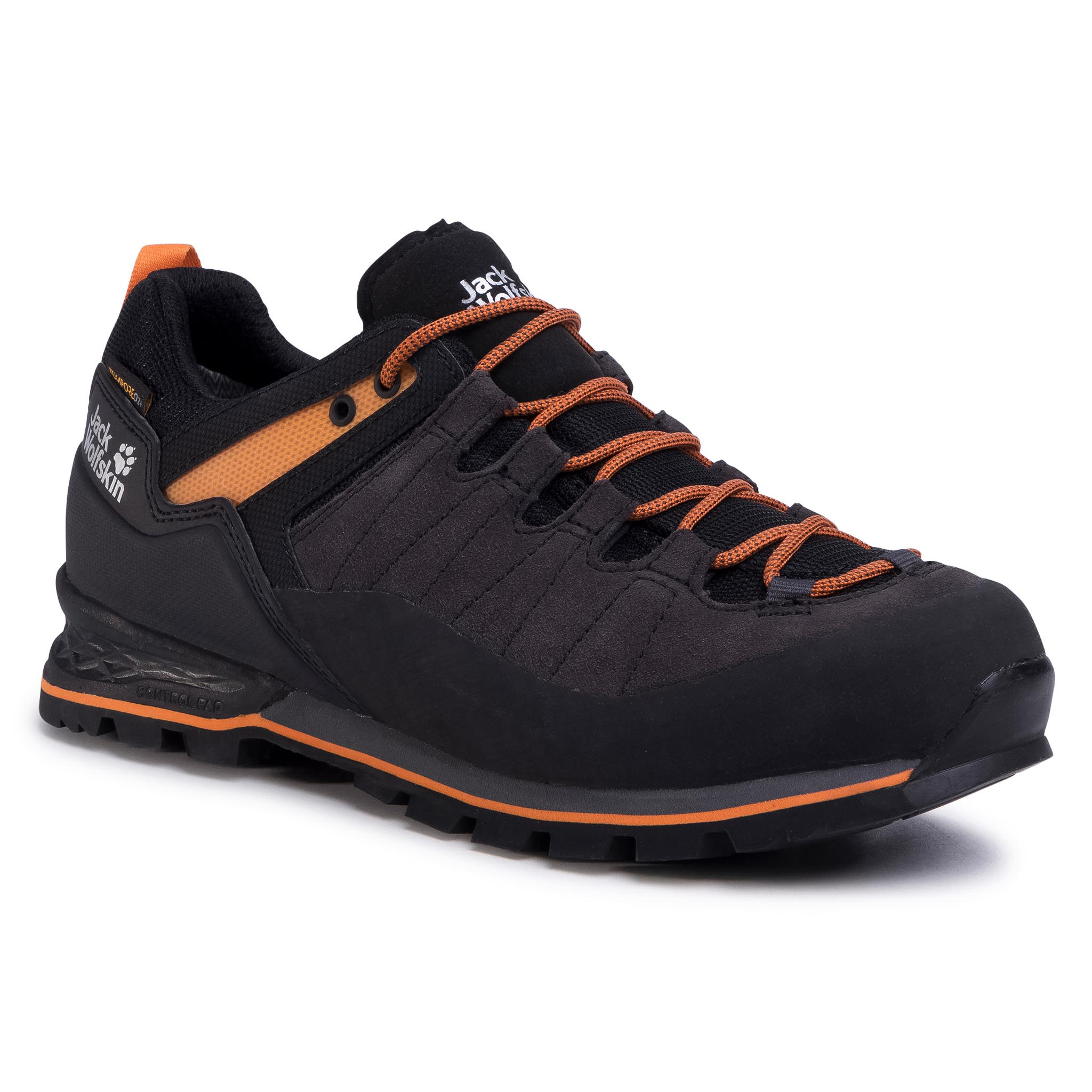 Trekkings Jack Wolfskin - Scrambler Xt Texapore Low M 4035311 Phantom/Orange imagine epantofi.ro 2021