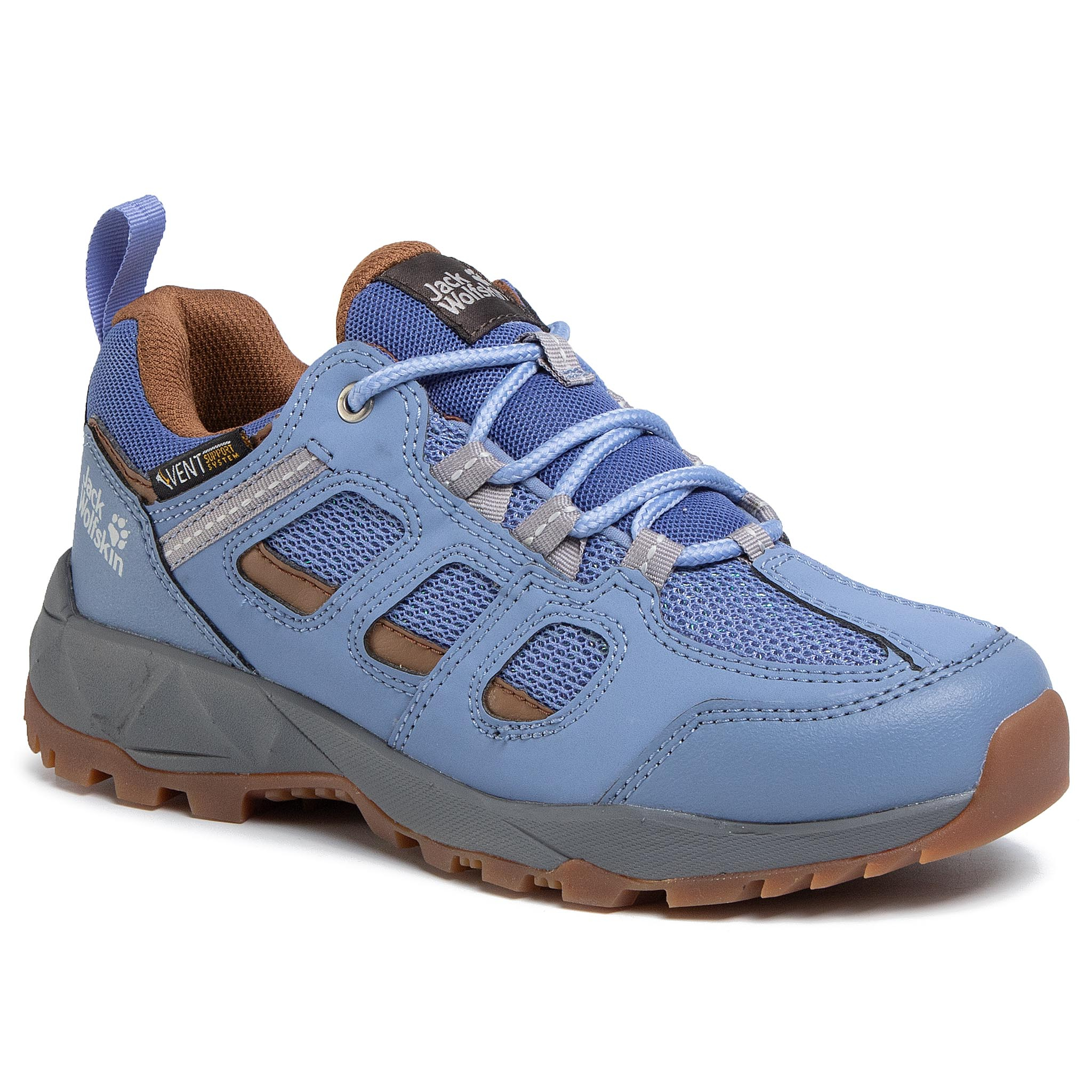 Trekkings Jack Wolfskin - Vojo Hike Xt Vent Low W 4039061 Light Blue/Brown imagine epantofi.ro 2021