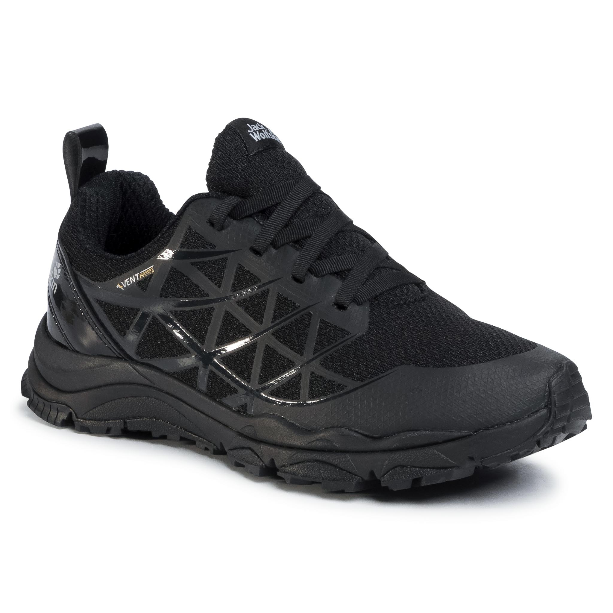 Trekkings Jack Wolfskin - Trail Blaze Vennt Low M 4040921 Black imagine epantofi.ro 2021