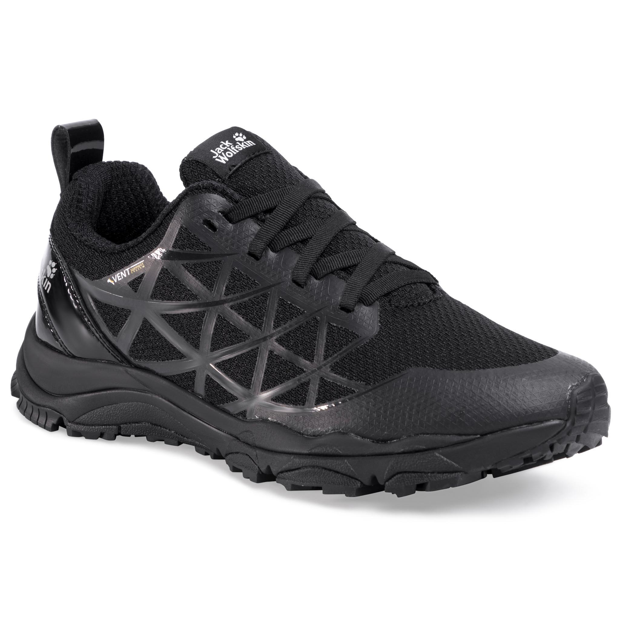 Trekkings Jack Wolfskin - Trail Blaze Vent Low W 4040931 Black imagine epantofi.ro 2021