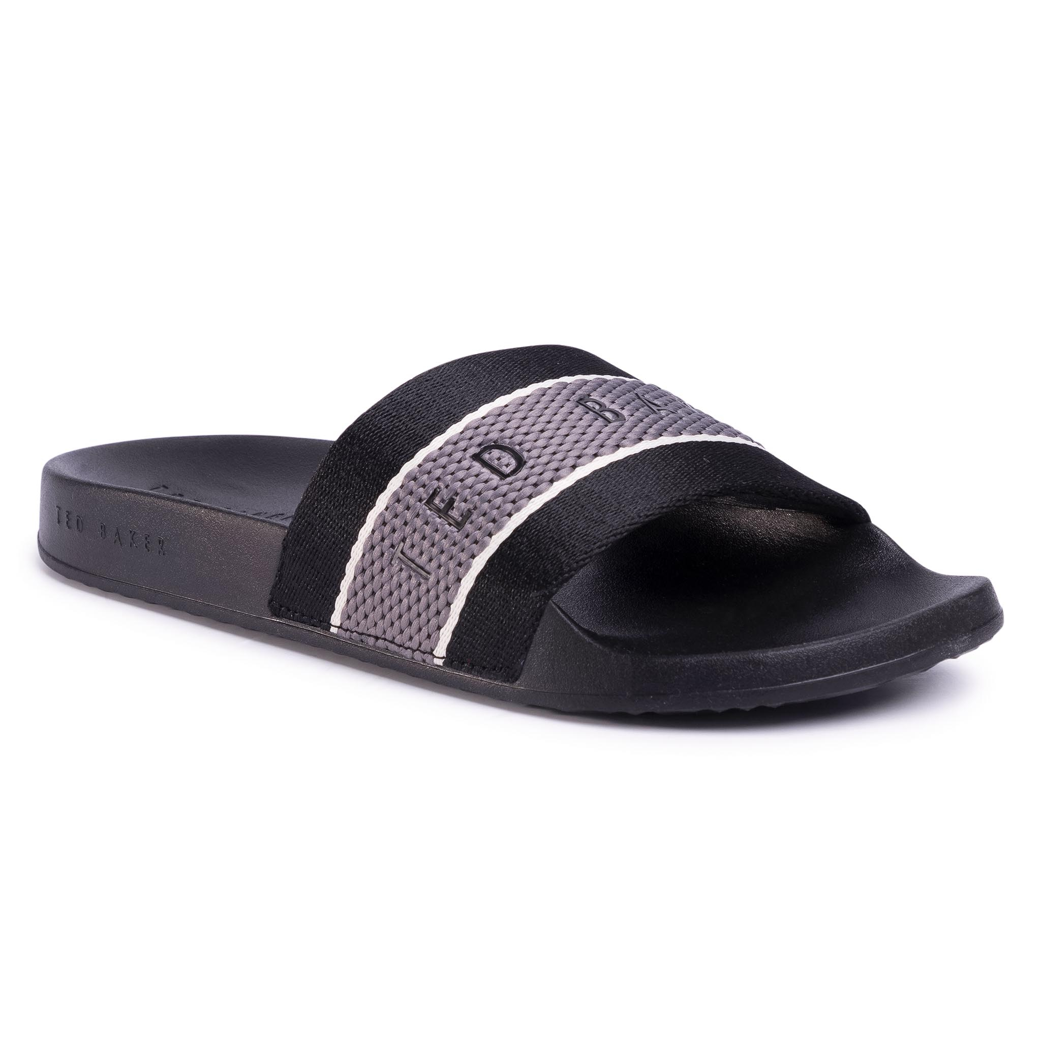 Șlapi Ted Baker - Rastar 230634 Black imagine epantofi.ro 2021