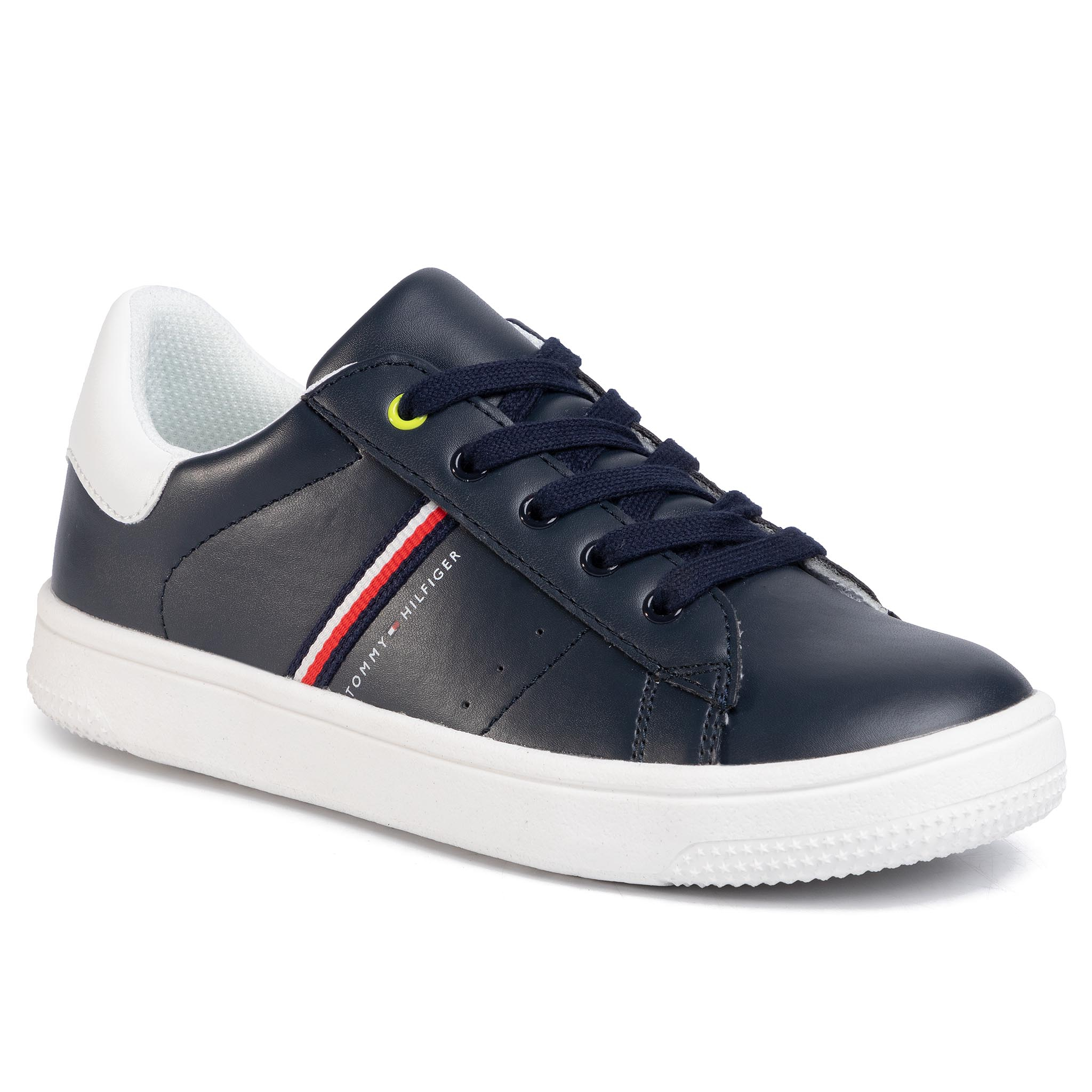 Sneakers TOMMY HILFIGER - Low Cut Lace-Up Sneaker T3B4-30709-0621 S Blue/White X007