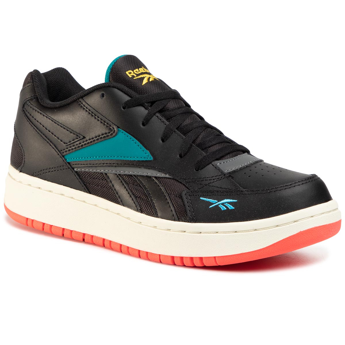 Pantofi Reebok - Court Double Mix EH3280 Black/Pugry6/Seatea
