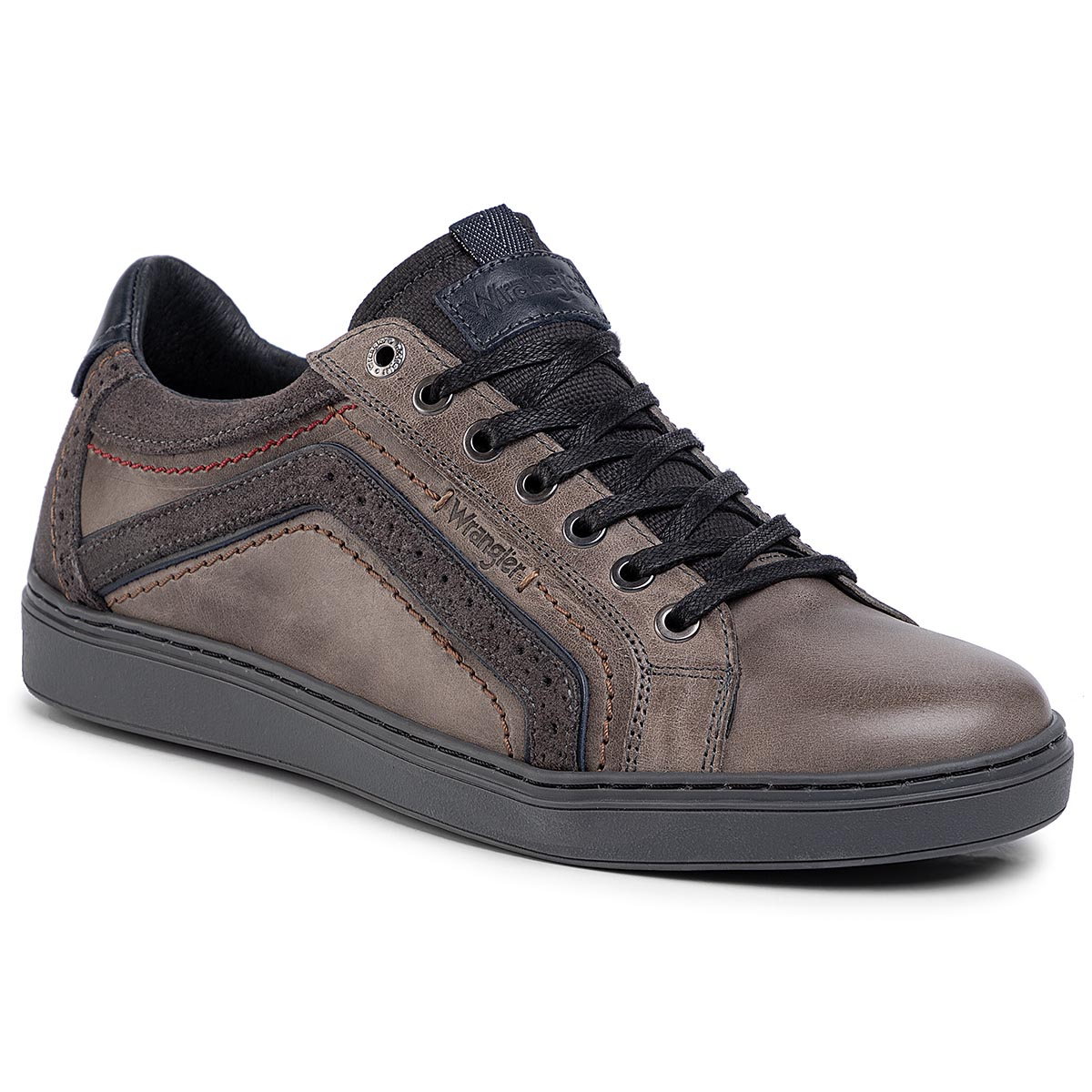 Sneakers WRANGLER - Owen Derby WM92090A Dk.Grey 56