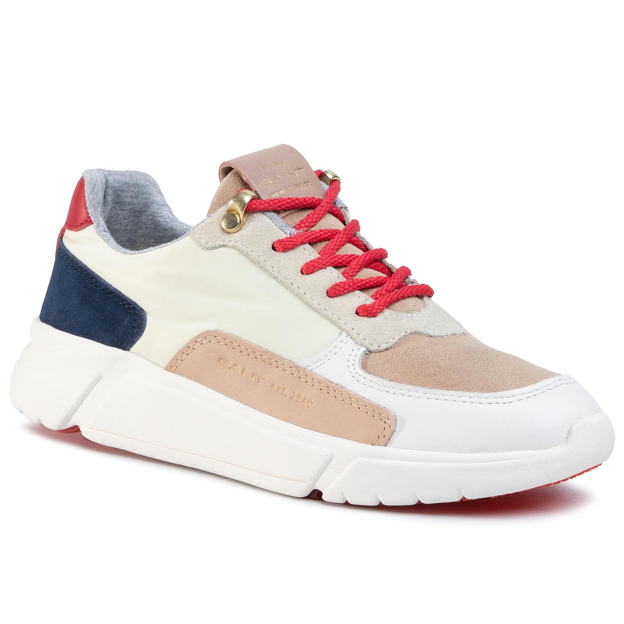 Sneakers GANT - Cocoville 20533535 Br.Wht/Bei/Red/Blue G293