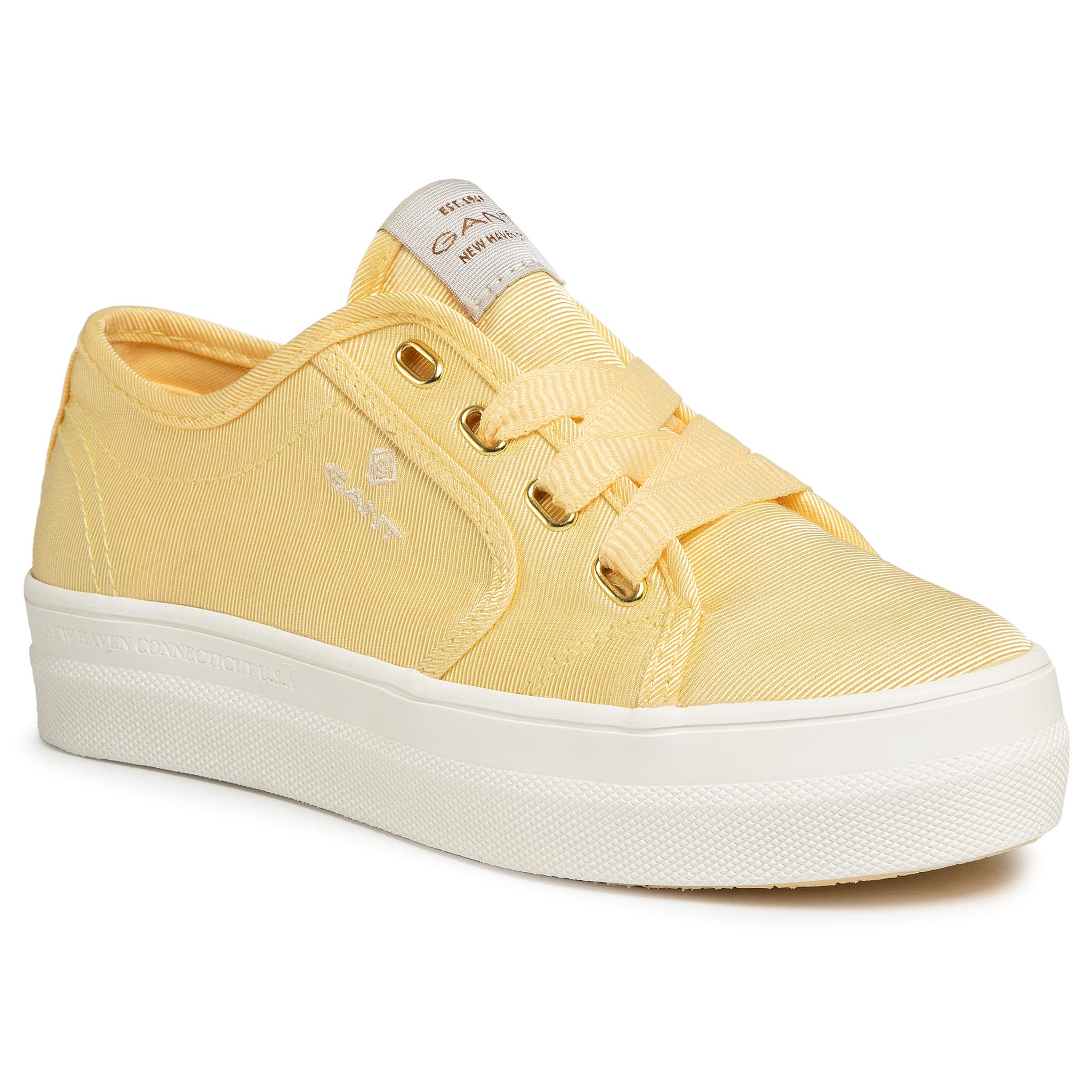 Teniși GANT - Leisha 20539441 Light Yellow G301
