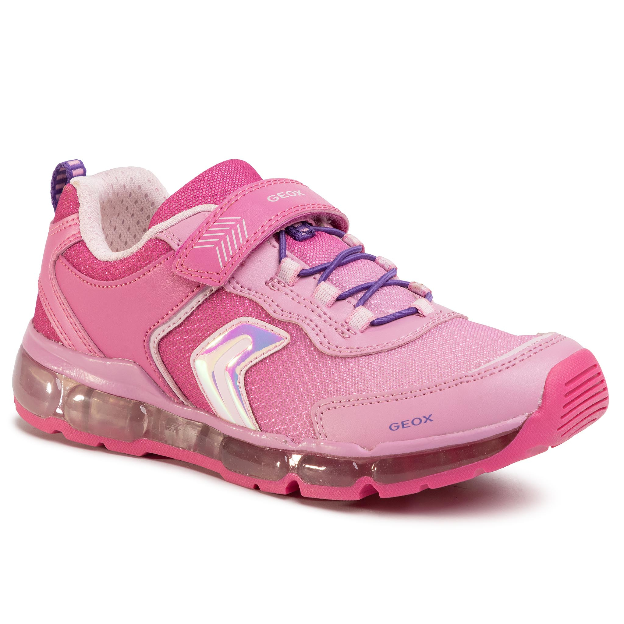 Sneakers GEOX - J Android G. A J0245A 014AJ C8002 D Fuchsia