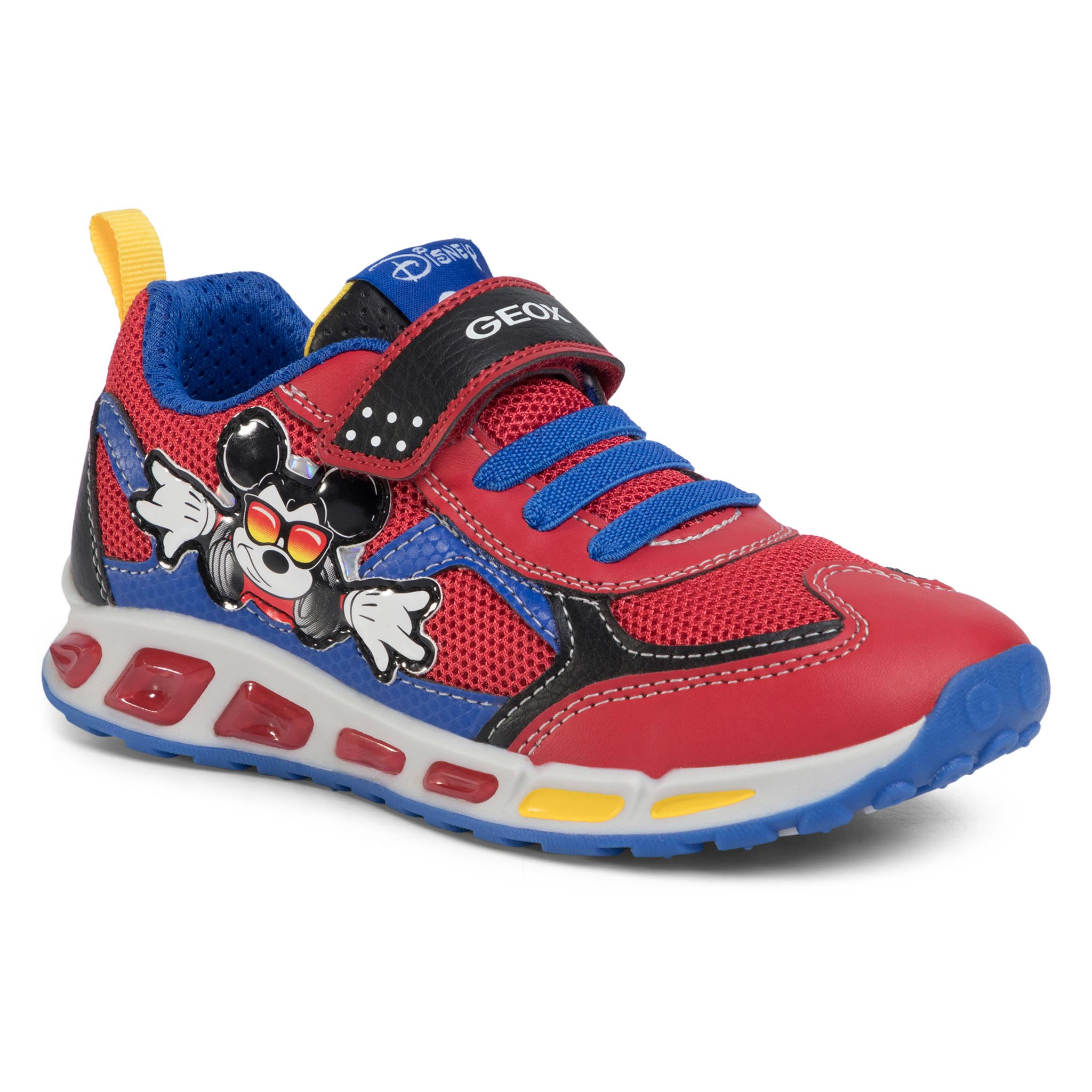 Sneakers GEOX - J Shuttle B. A J0294A 01454 C7213 D Red/Royal