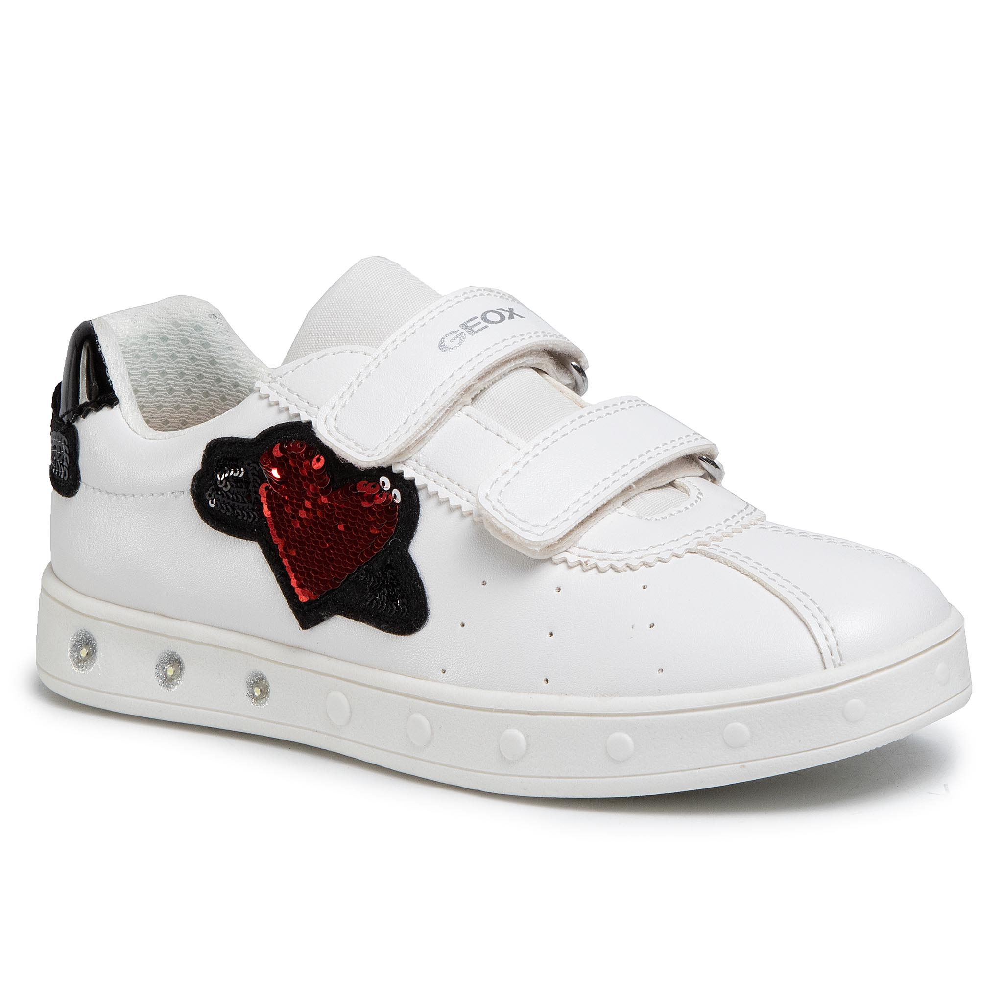 Sneakers GEOX - J Skylin G. C J928WC 000BC C1000 D White