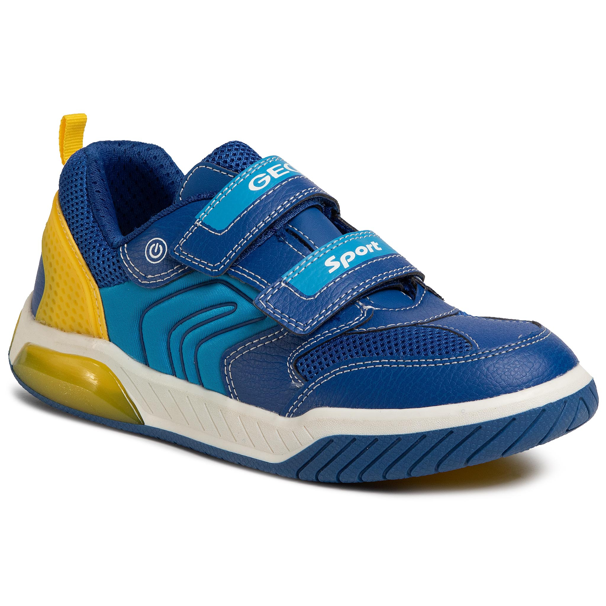 Sneakers GEOX - J Inek B. D J949CD 0FE14 C0797 DD Royal/Yellow