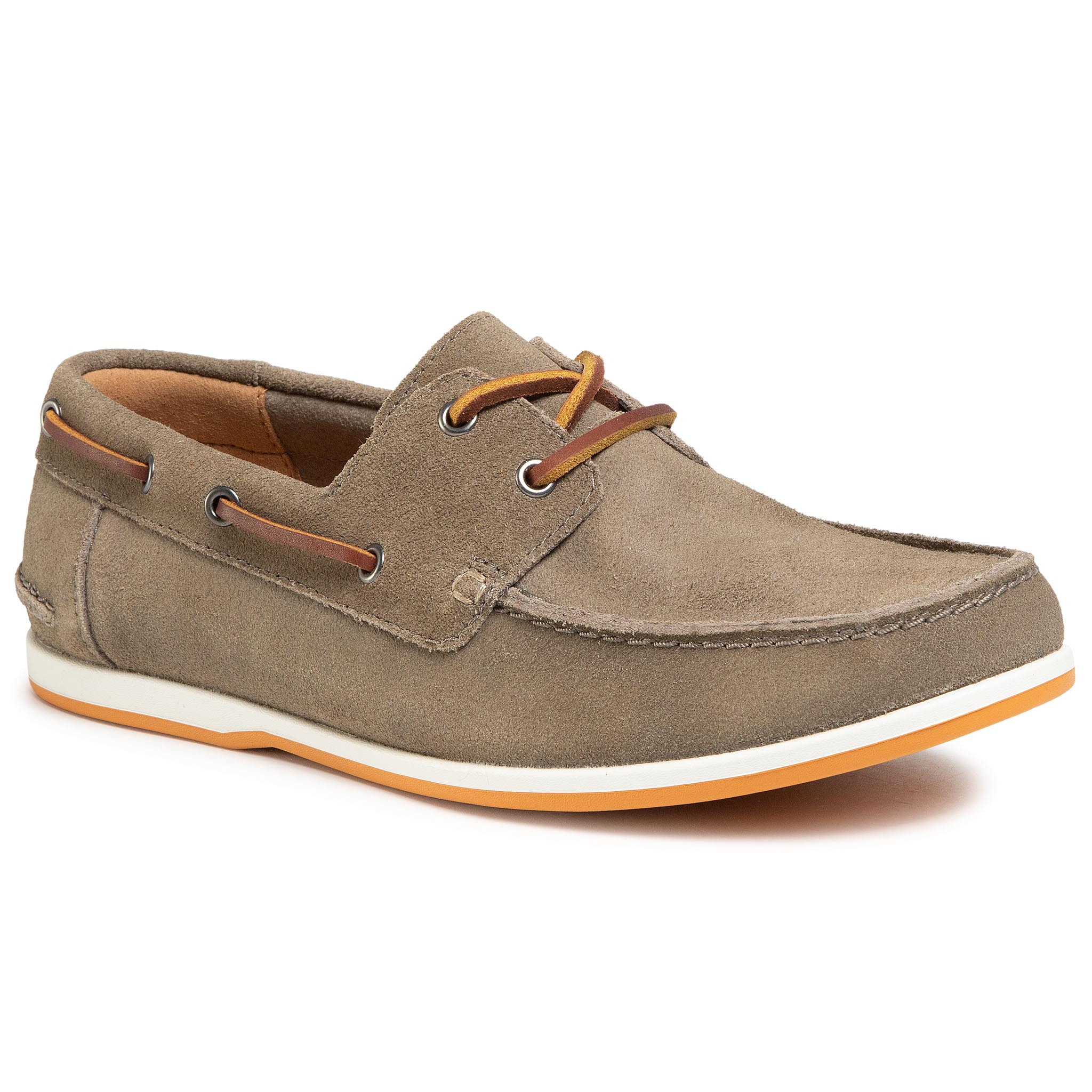 Mocasini Clarks - Pickwell Sail 261502327 Sage Suede imagine