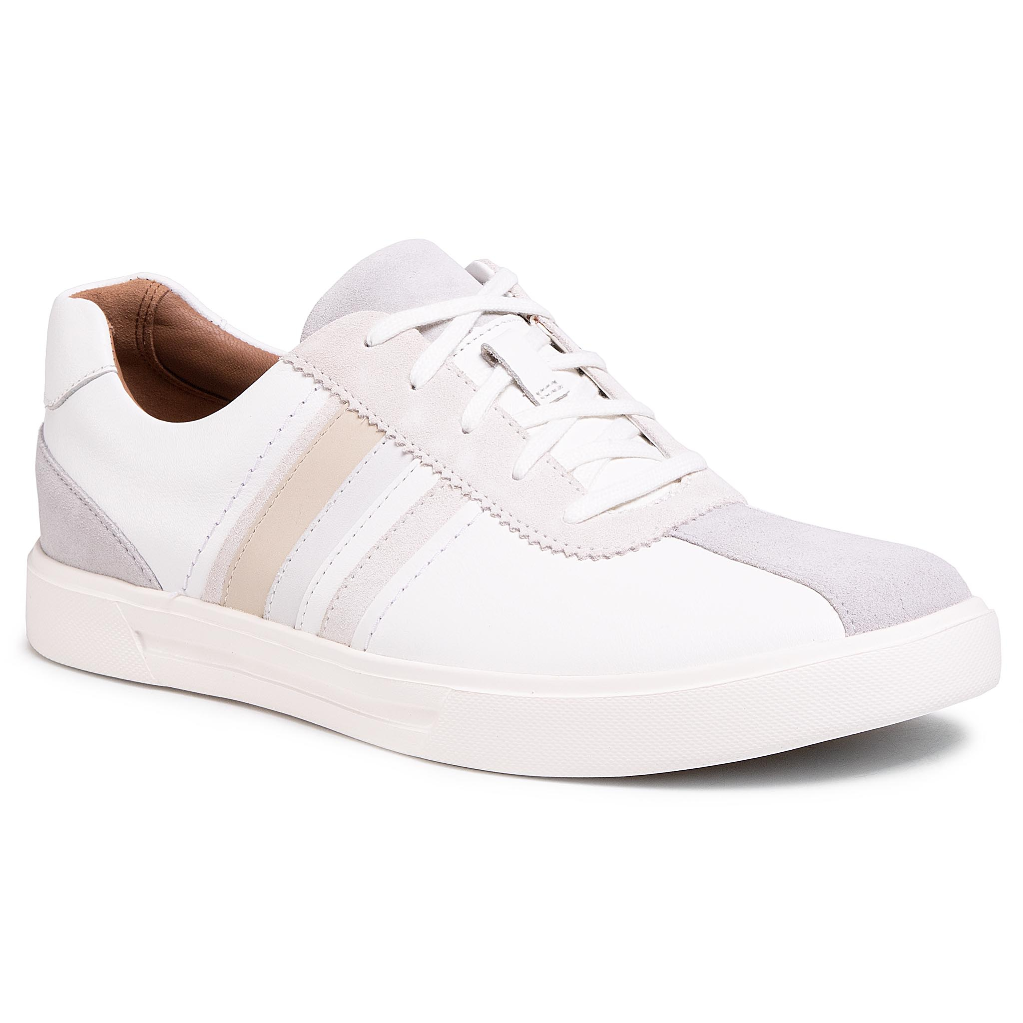 Sneakers CLARKS - Un Costa Band 261505517 White