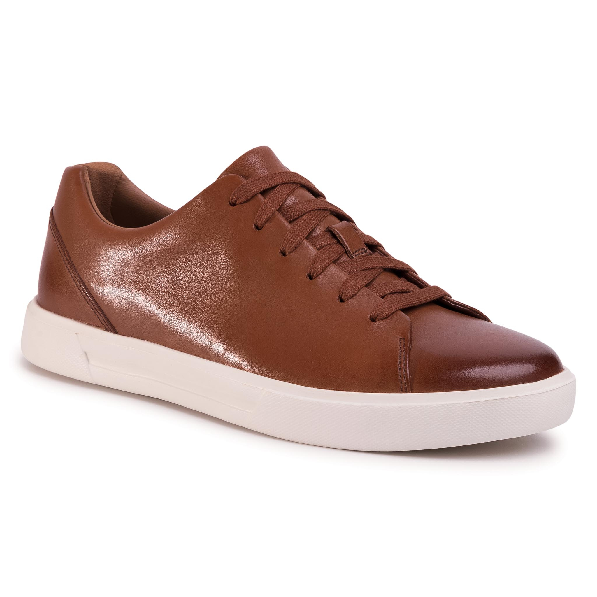 Sneakers CLARKS - Un Costa Lace 261486907 British Tan Leather